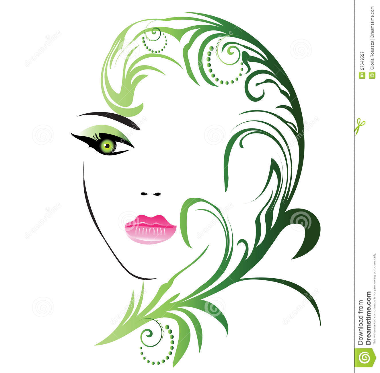 Beauty Girl Face Royalty Free Stock Photography - Image ...