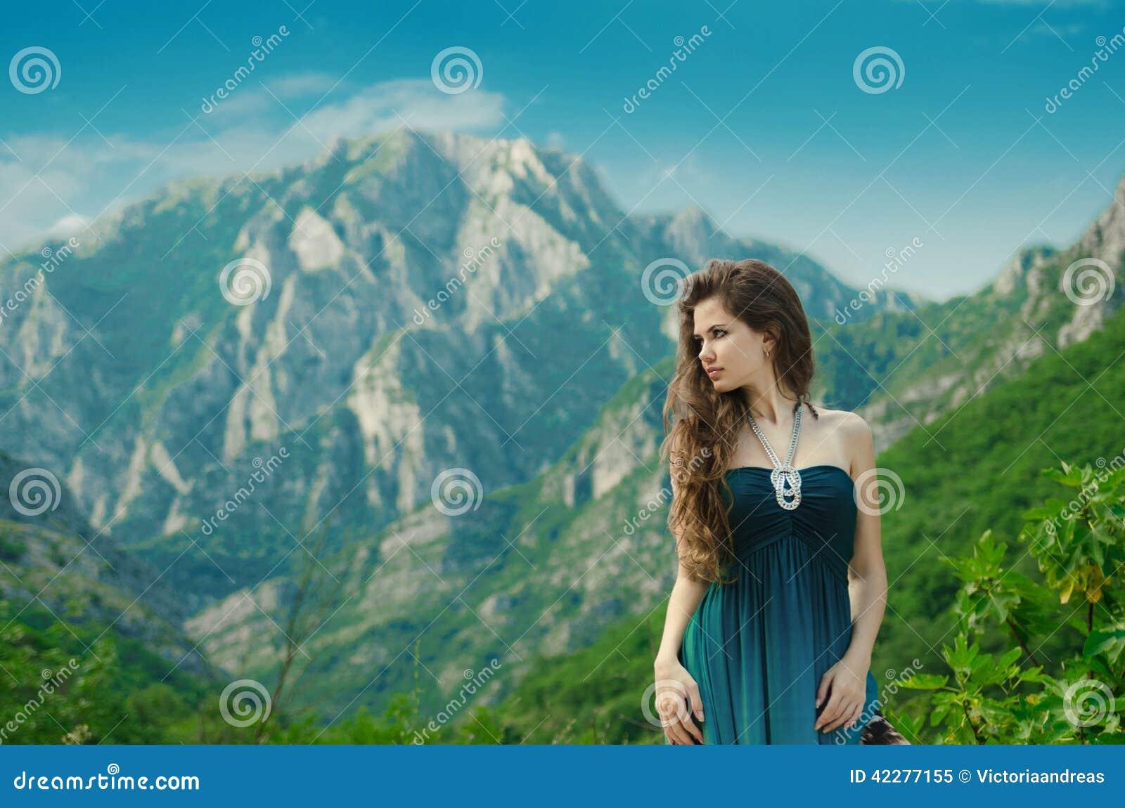 outdoors Beautiful girls