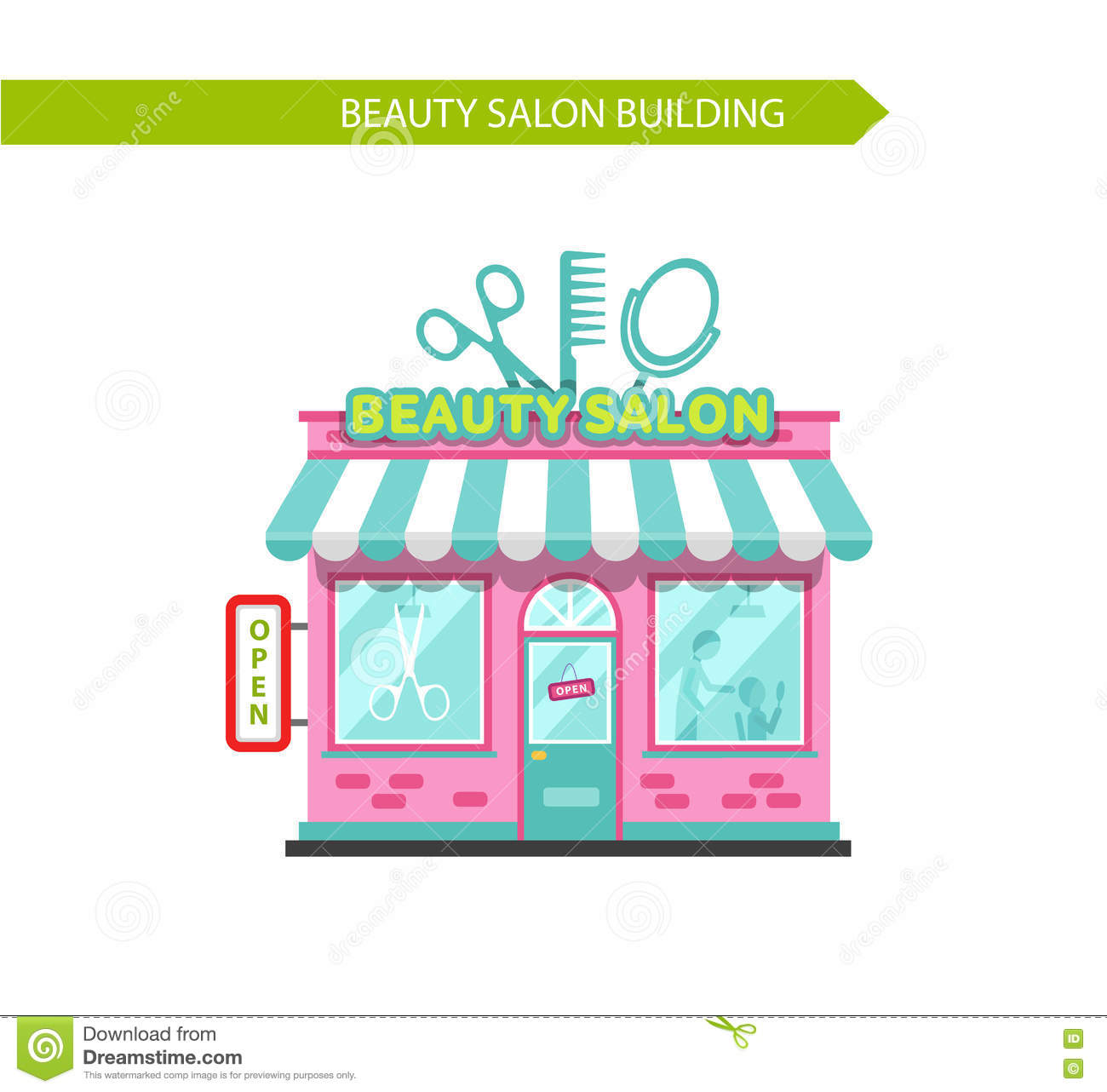 Beauty Or Hair Salon Building