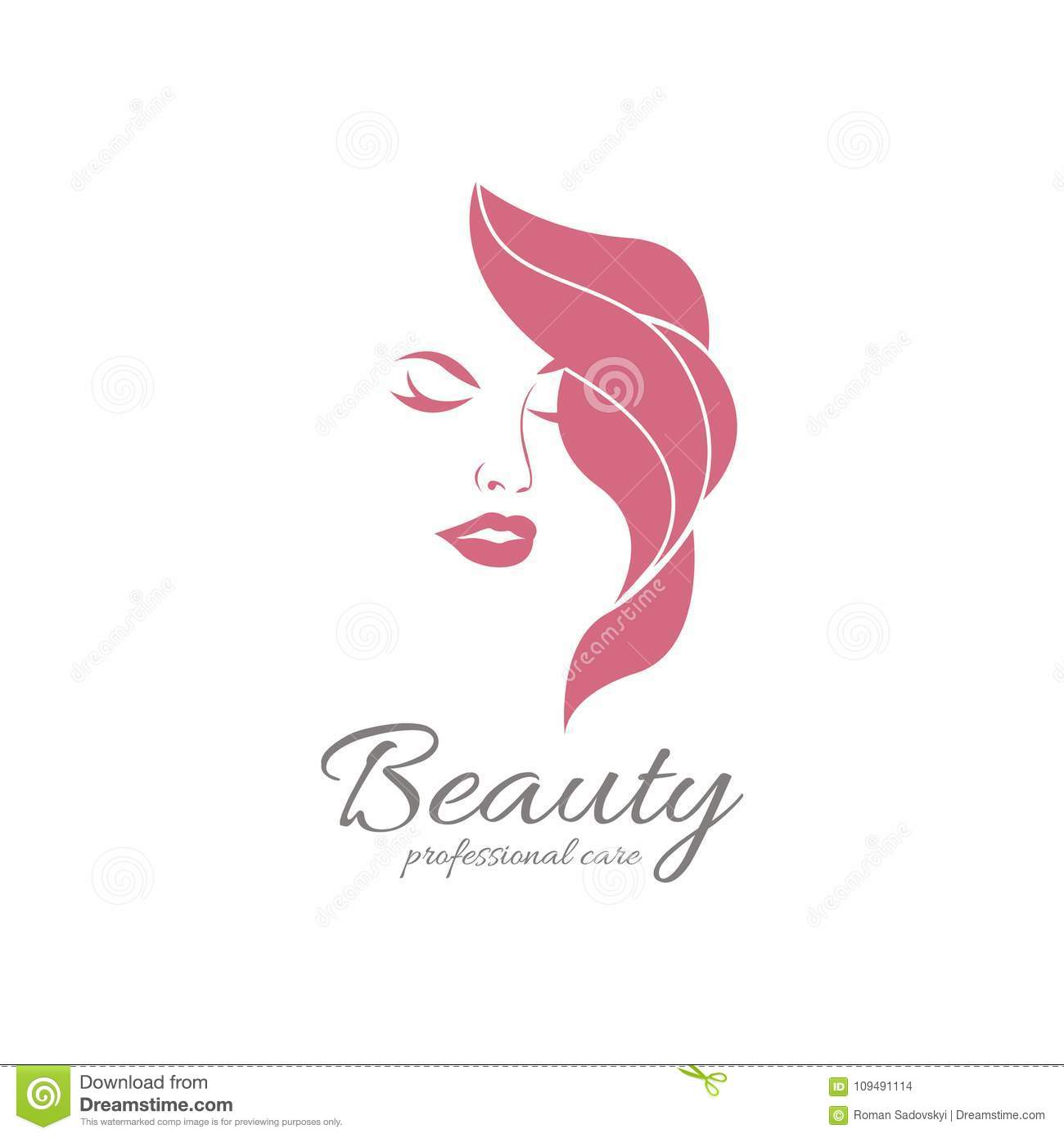 beauty salon vector cosmetic hair names skin google boutique business brand clouds treatment saloon