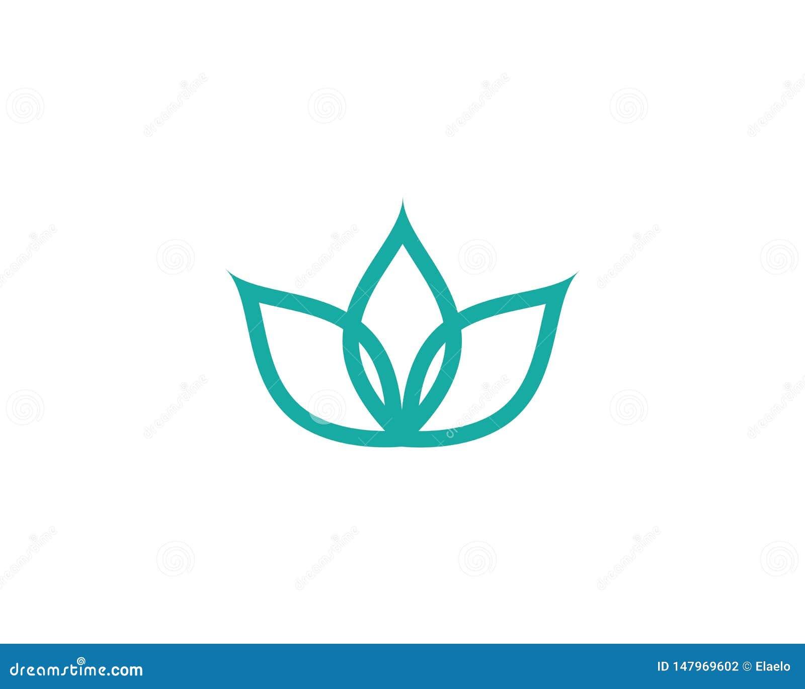 Decoration Salon Zen Photo beauty lotus flower vector icon stock vector - illustration
