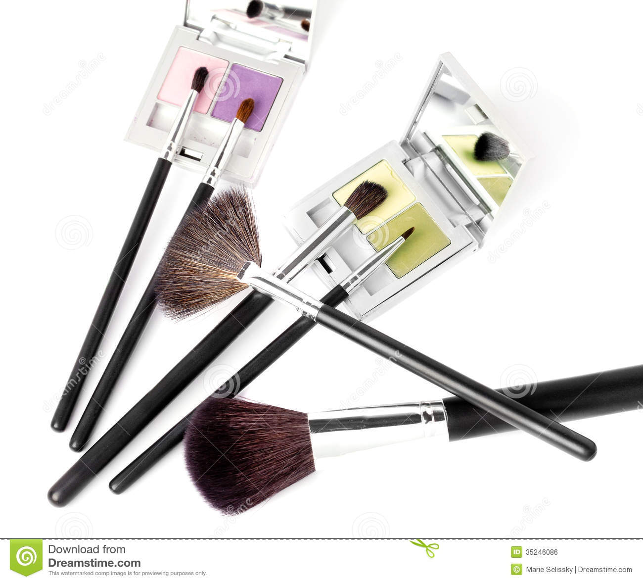 Beauty Makeup Accessories Stock Photo. Image Of Beauty - 35246086