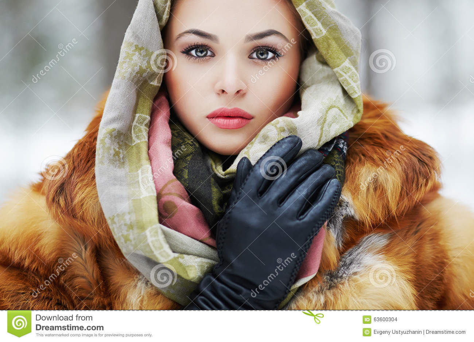 girl Siberian models young