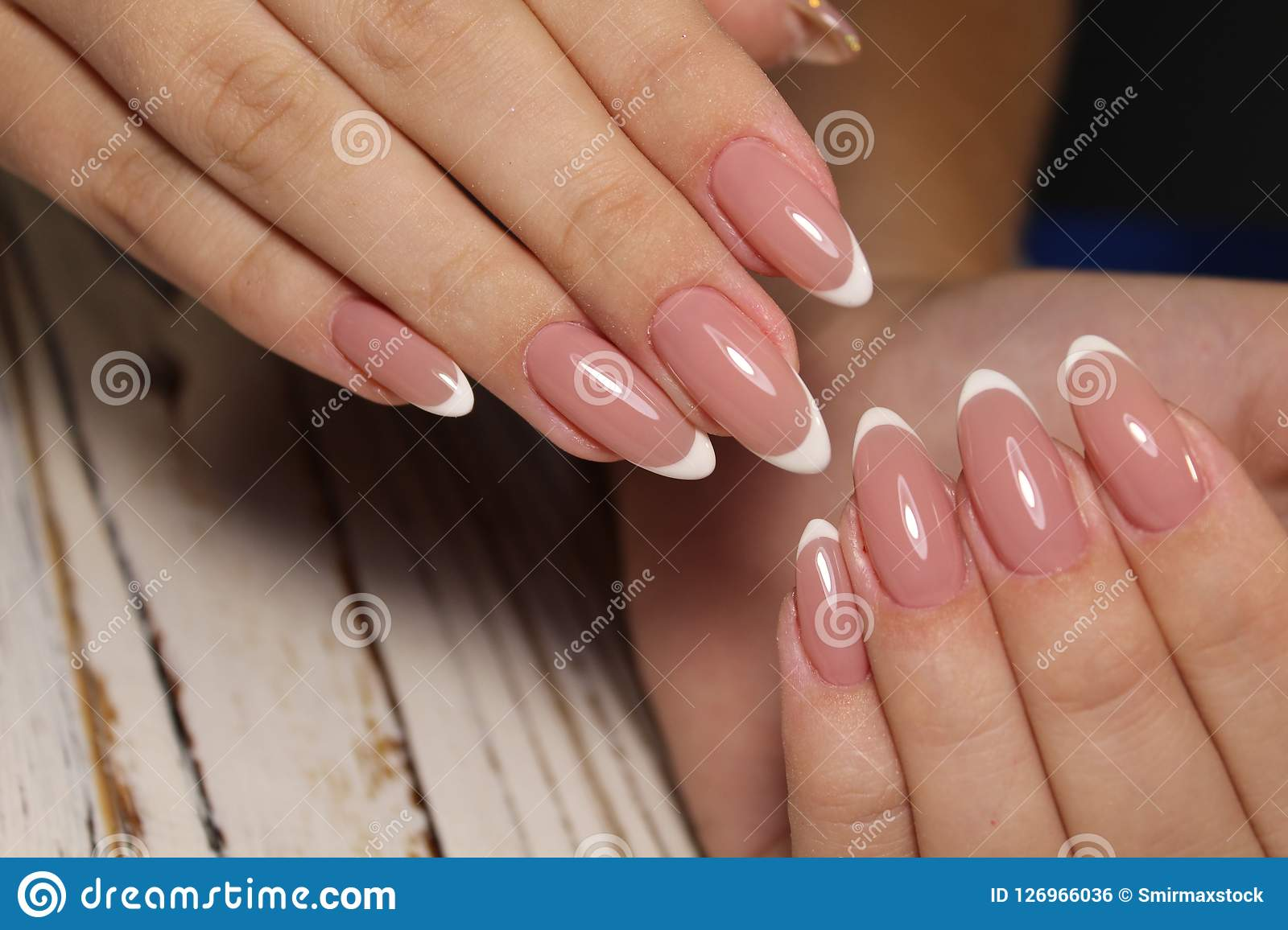 The Beauty Of The Natural Nails. Perfect Clean Manicure ...