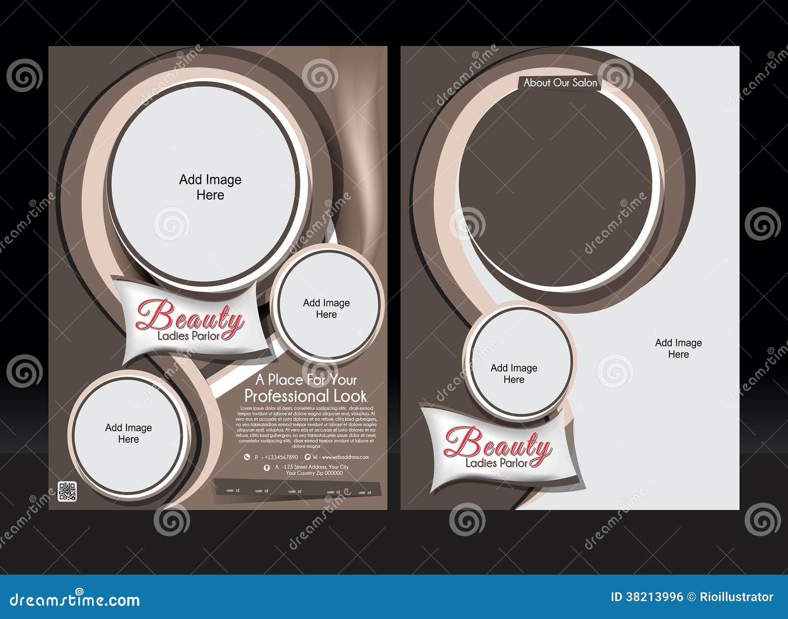 Beauty parlour brochure template - 35+ free jpg, psd, indesign