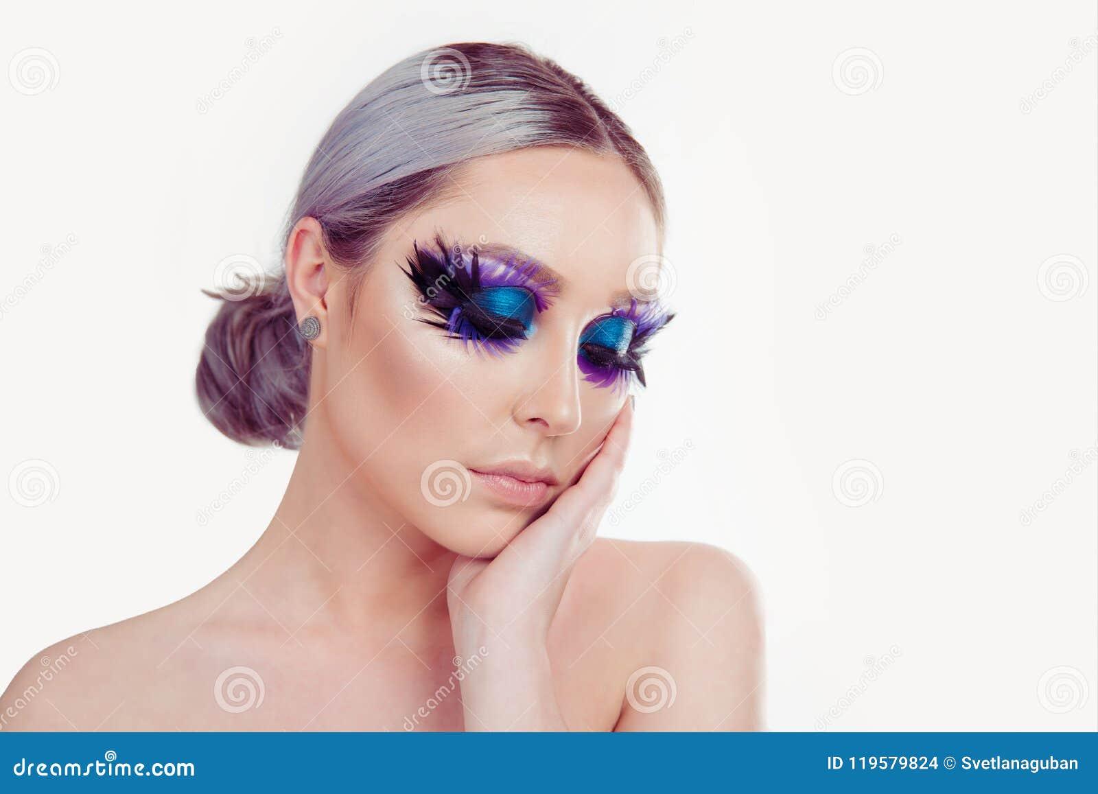 Purple Eyelashes Gallery Eye Makeup Ideas 2018