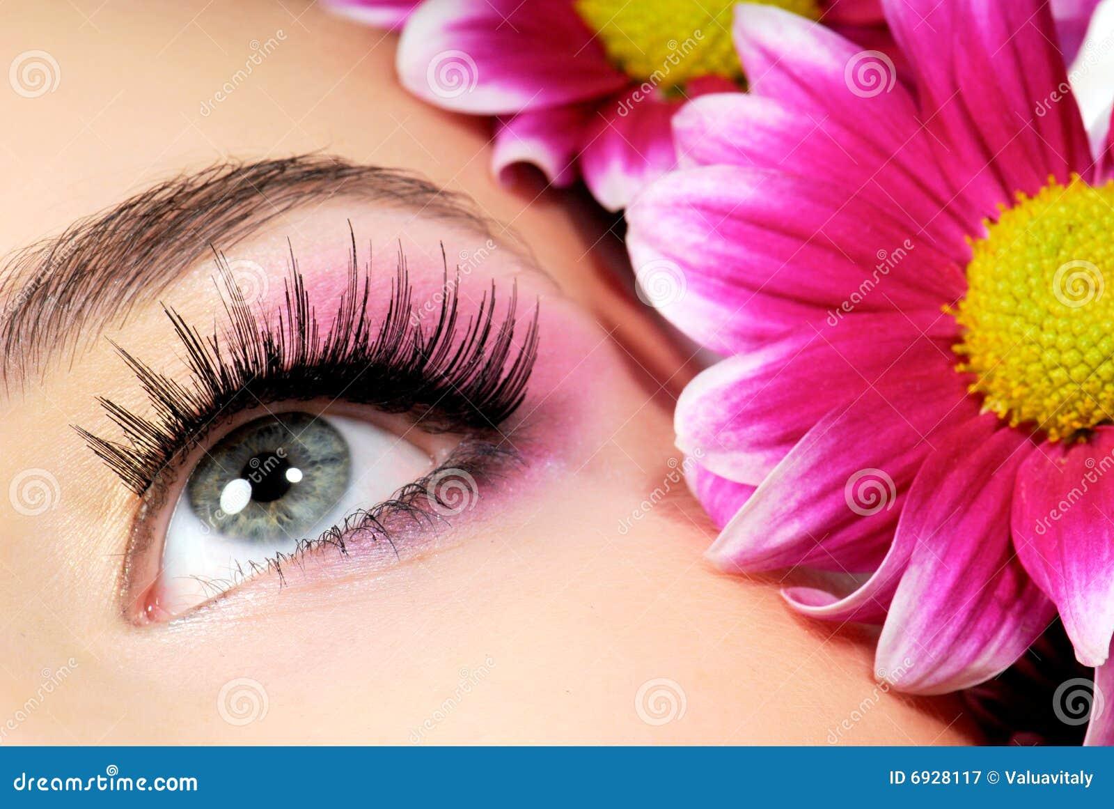 Beauty Pink Make Up Stock Image Image Of Macro Flower 6928117