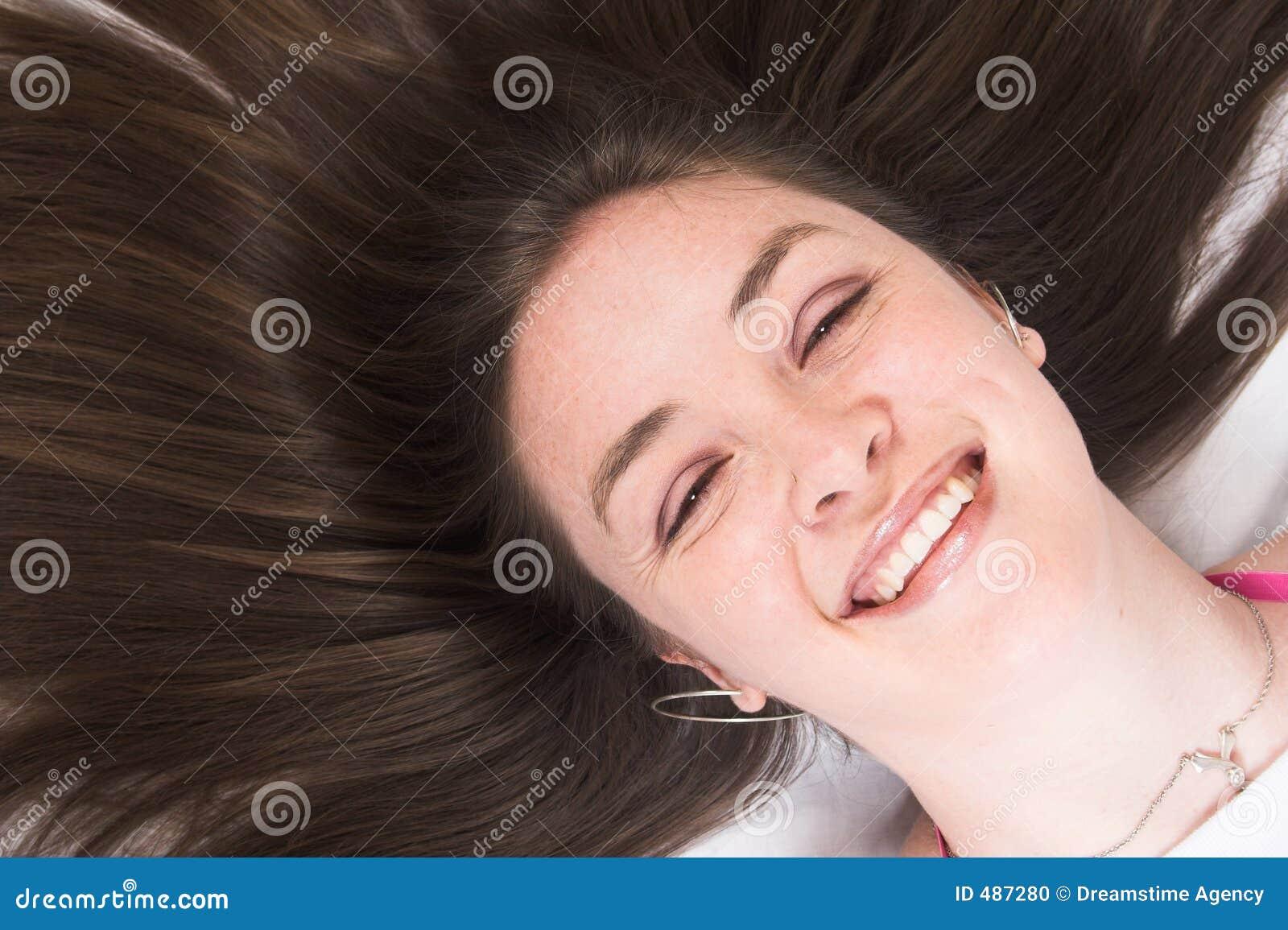 Beauty portrait - smiling