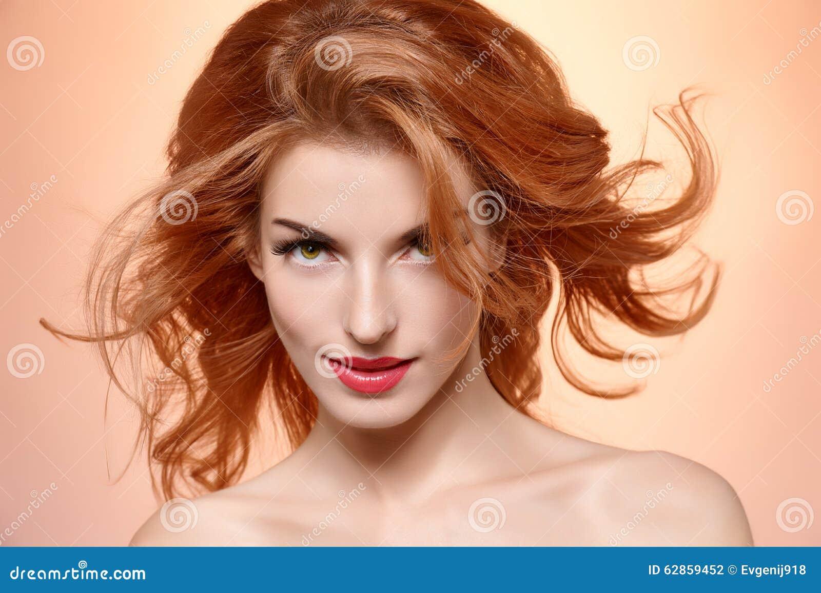 fashion Pretty models redhead