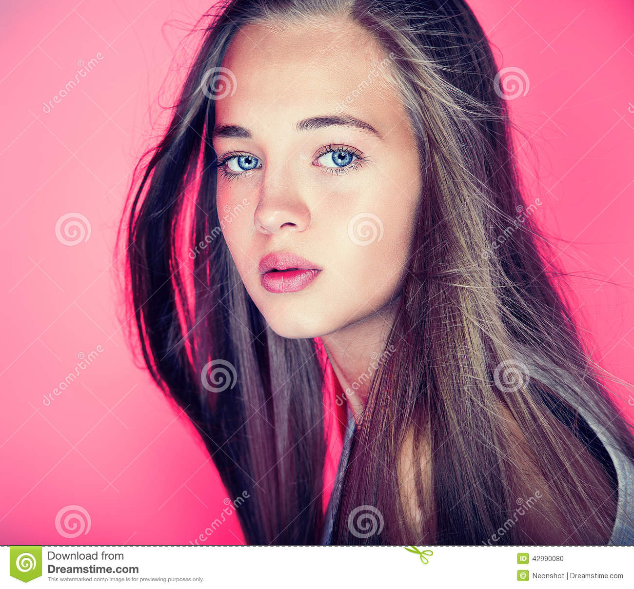 Young Princess Blowing Dream Stock Photography