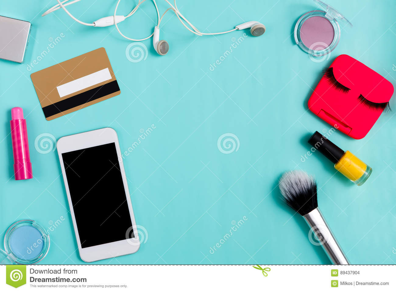 Beauty products online shopping, everyday make-up