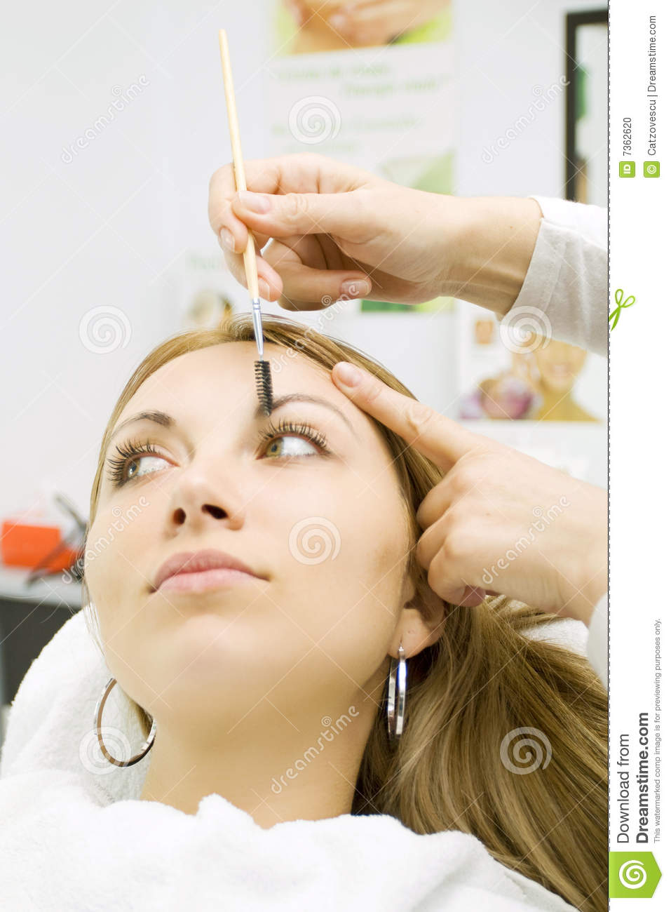 Beauty salon stock photo image 7362620 for A creative touch beauty salon