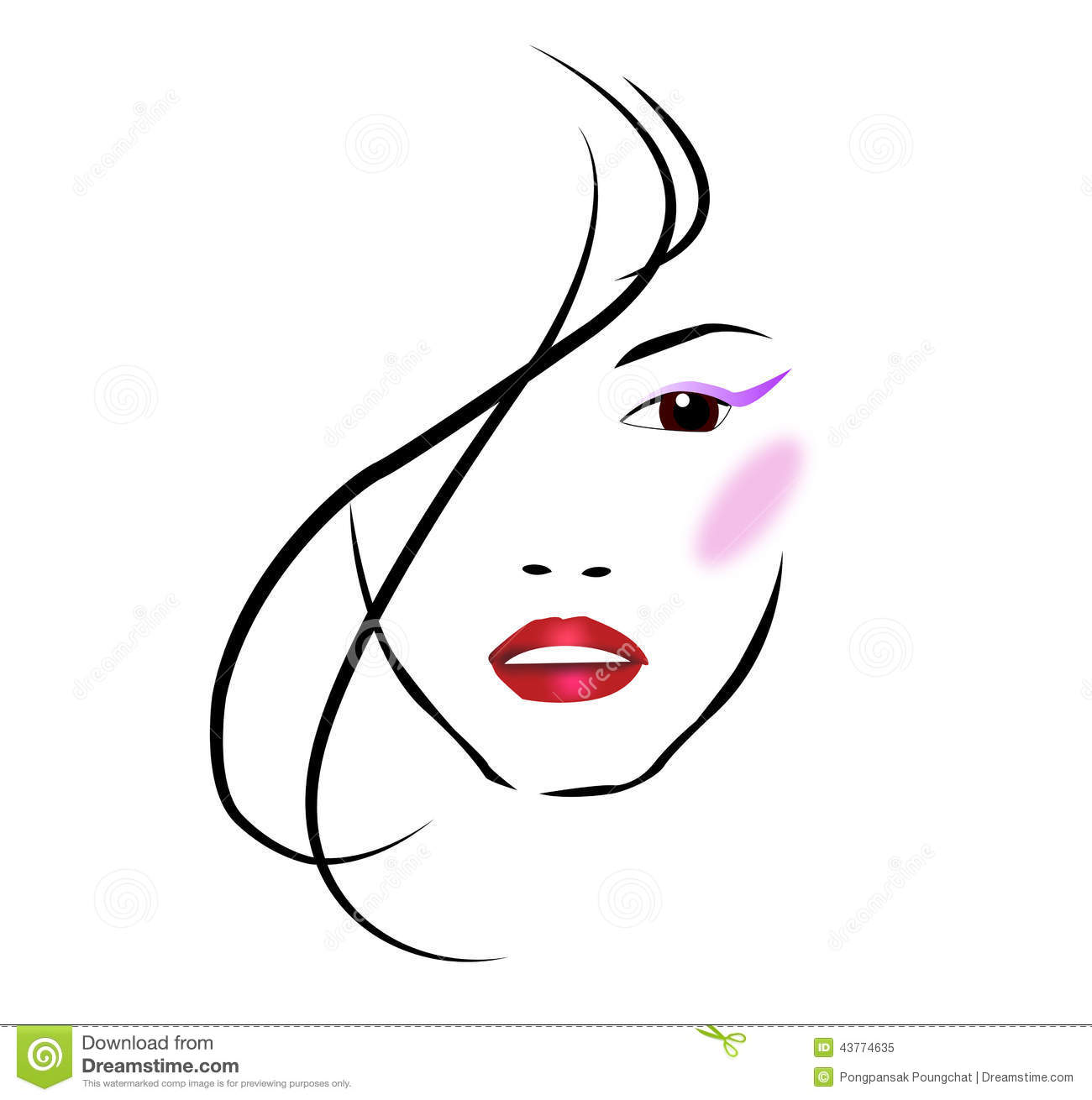 Beauty Salon Stock Vector - Image: 43774635