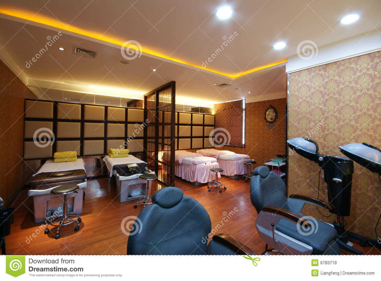beauty salon decoration stock image image of hair body. Black Bedroom Furniture Sets. Home Design Ideas