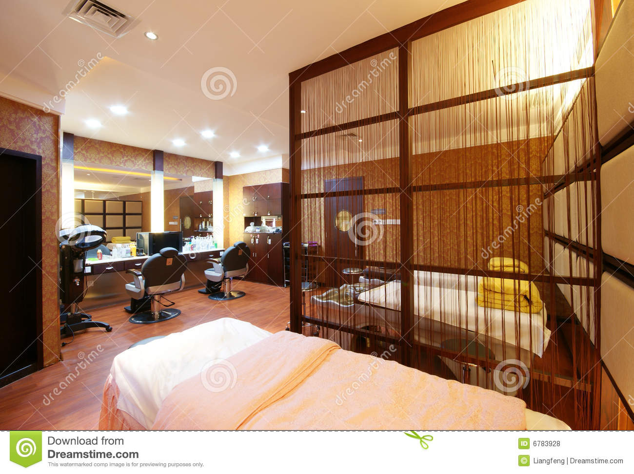 Beauty salon decoration stock photo image of activity - Decoration salon photo ...