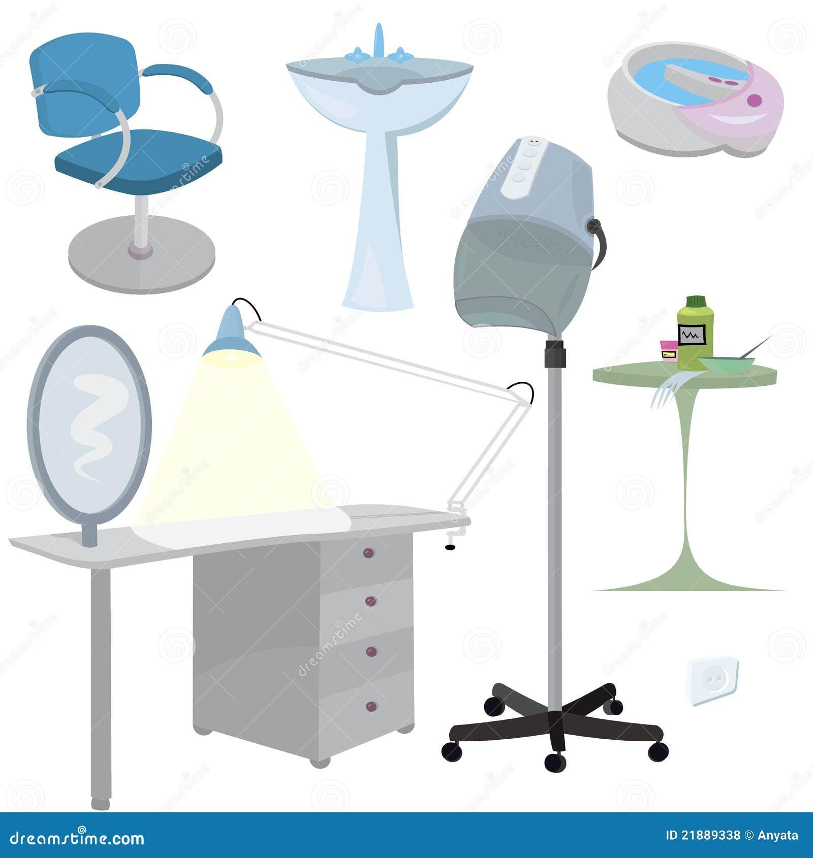 Fantastic Beauty Salon Furniture Icon Set Illustration 21889338 Megapixl Download Free Architecture Designs Intelgarnamadebymaigaardcom
