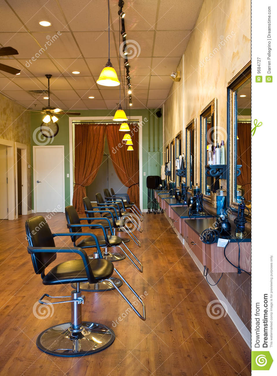 beauty salon interior stock image  image of cool  business