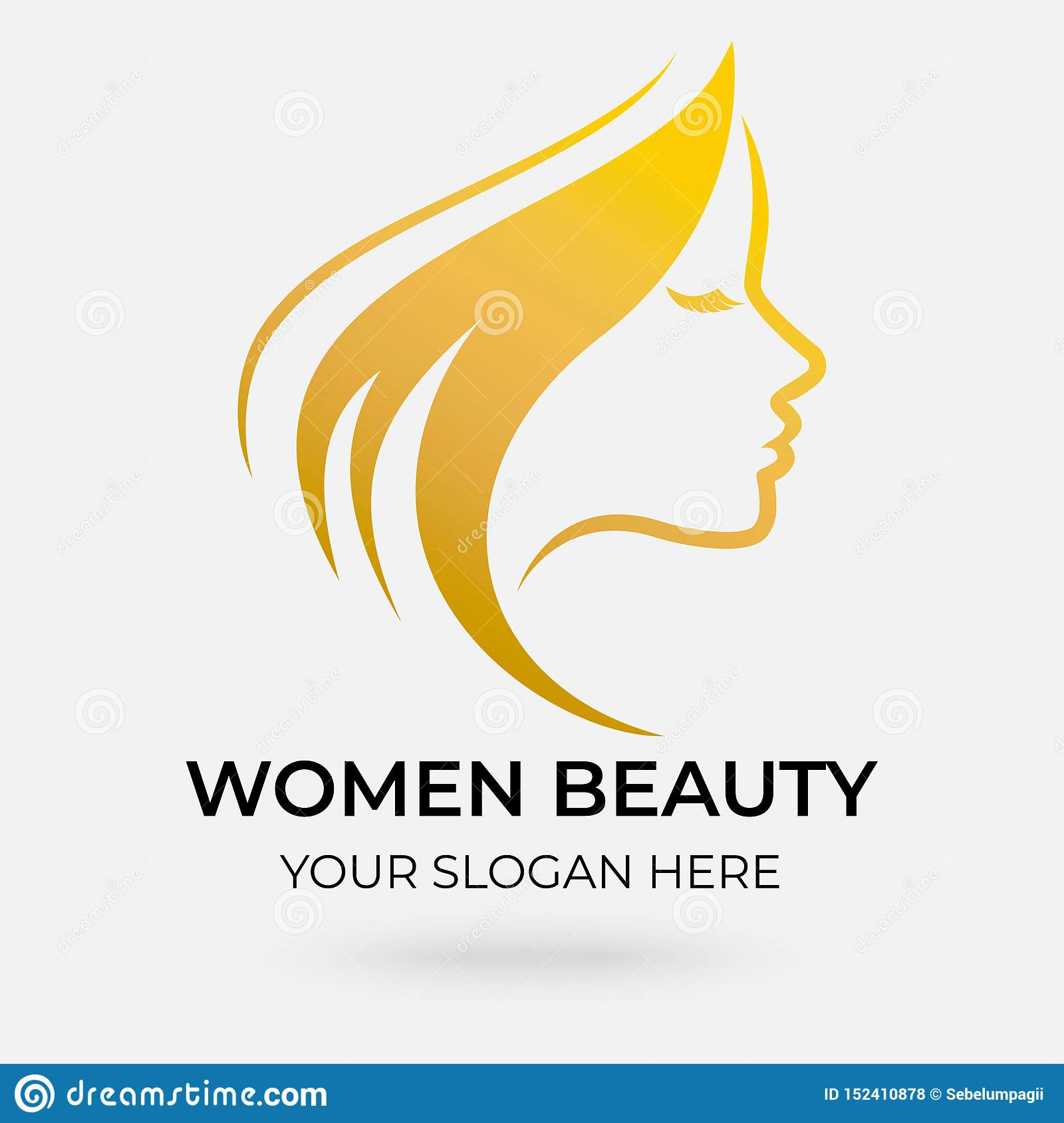 Beauty Salon Logo Design Stock Illustration Illustration Of Customer 152410878