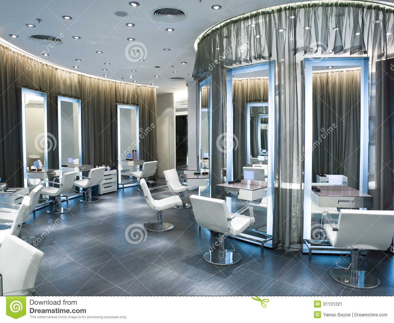 Beauty salon stock image image of elegance clean style for Beauty hair salon
