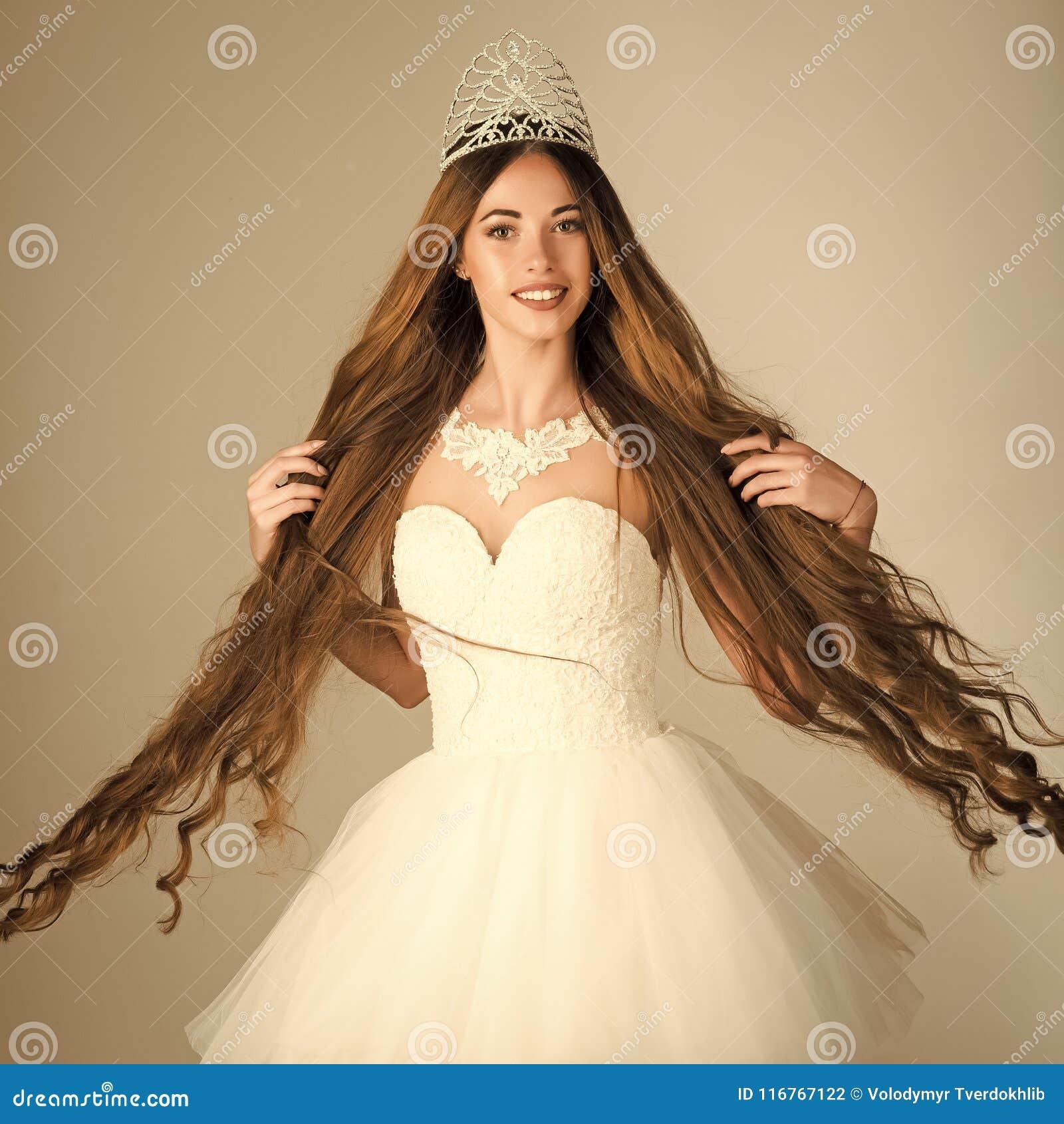Beauty Salon And Wedding Fashion. Stock Photo