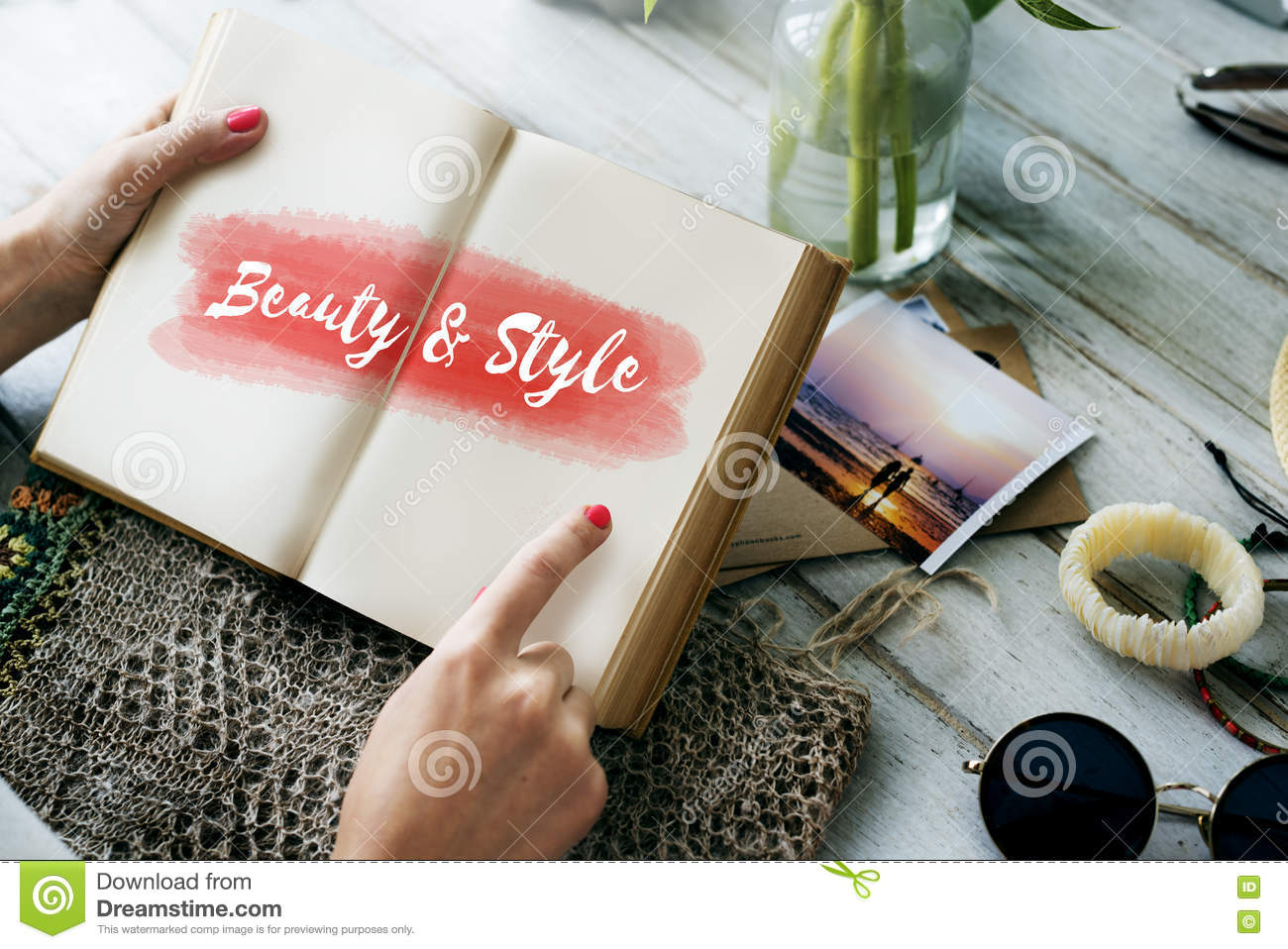 Beauty Style Fashion Text Concept Stock Photo 79094904