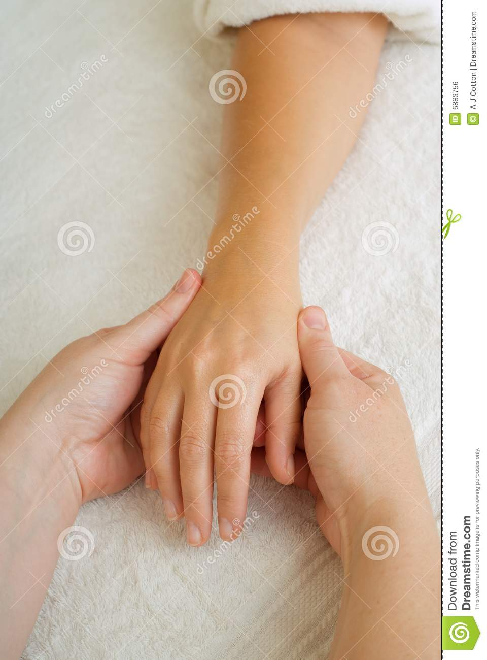 Beauty Therapy Manicure Massage Royalty Free Stock Image - Image ...