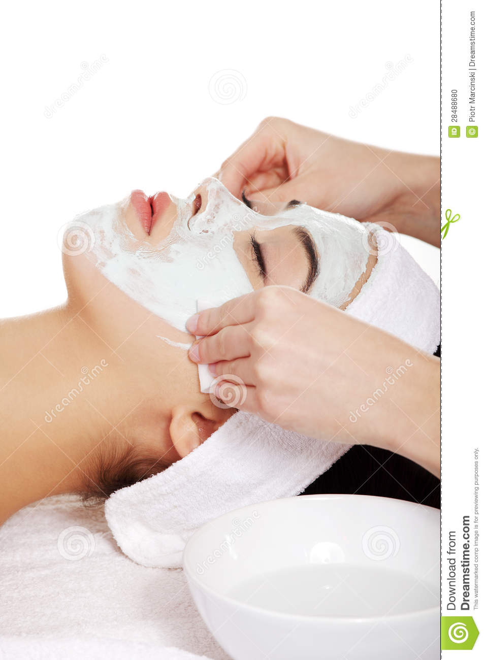 Beauty treatment in spa salon stock photo image 28488680 for A trial beauty treatment salon