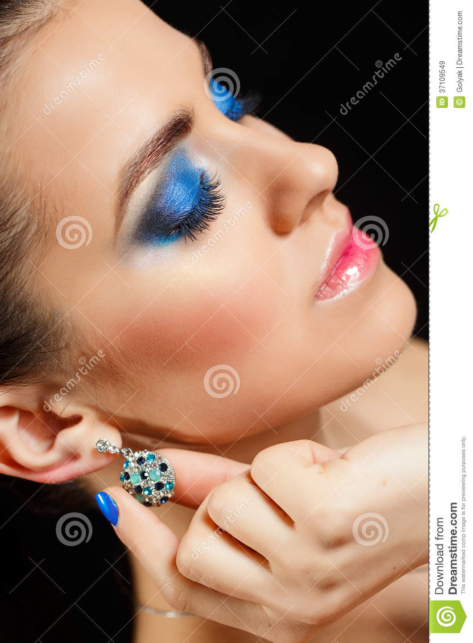 Beauty Vogue Style Fashion Model Girl Royalty Free Stock Images Image 37109549