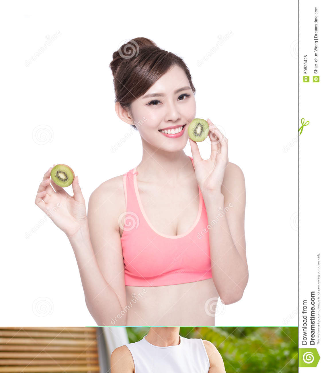Asian adult healthy diet