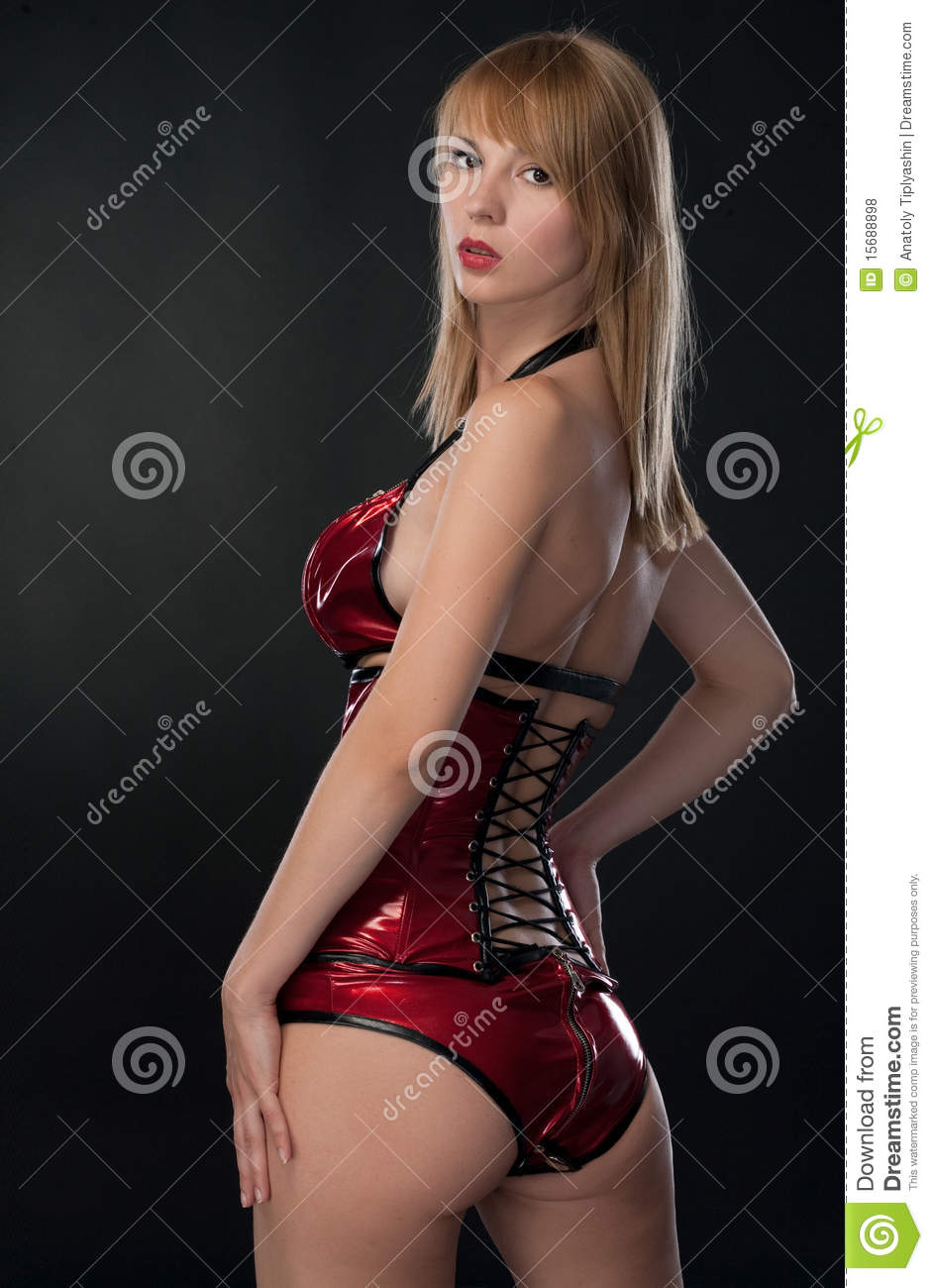 Beauty woman in clothing