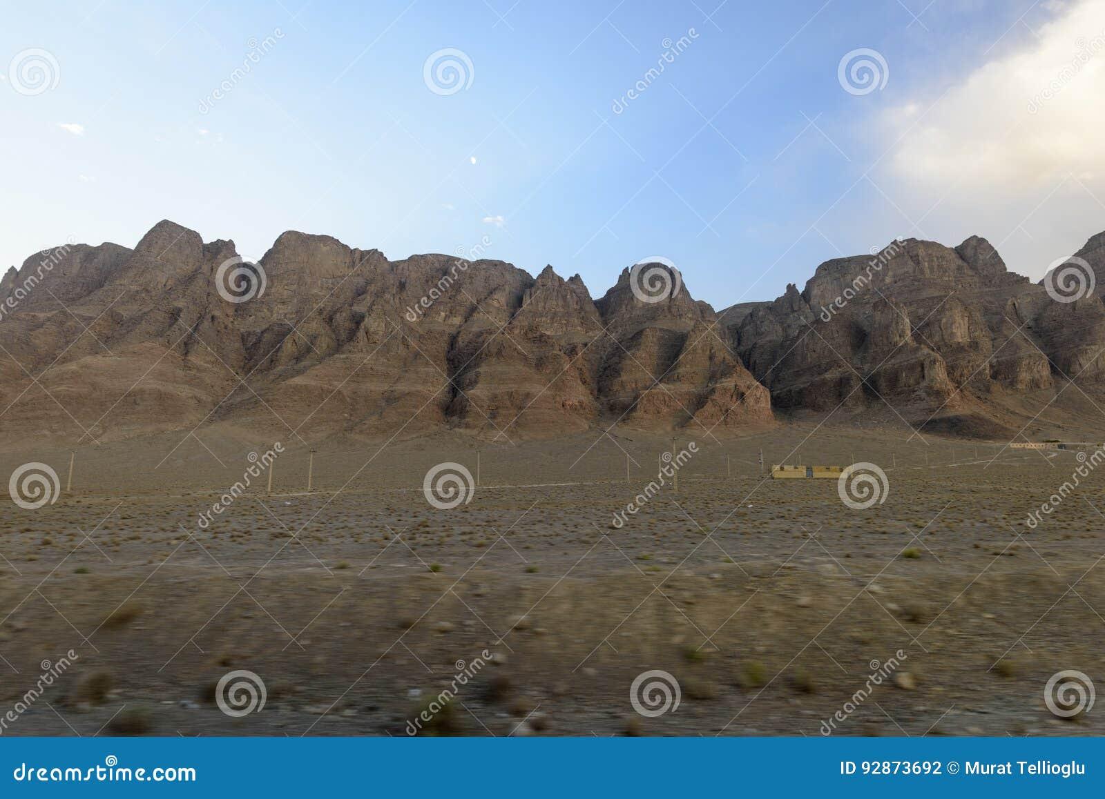 Beaux déserts en Iran