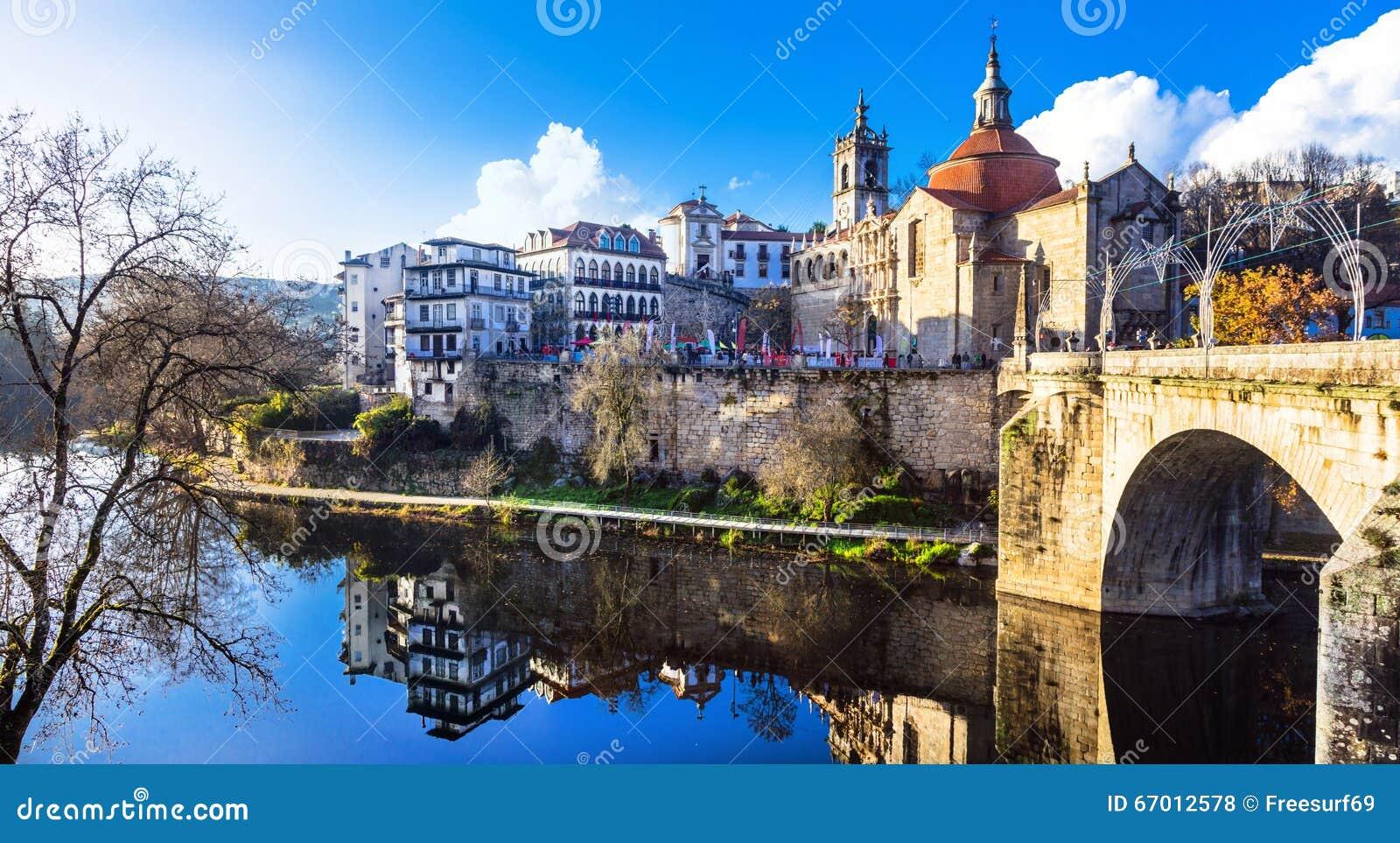Beaux Endroits Au Portugal L 39 Amarante Photo Stock Image 67012578