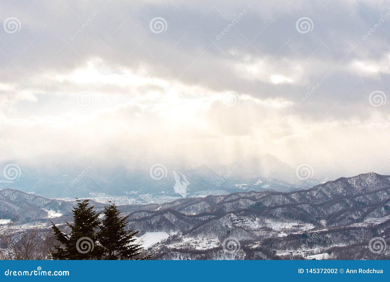 Beaux layes des montagnes