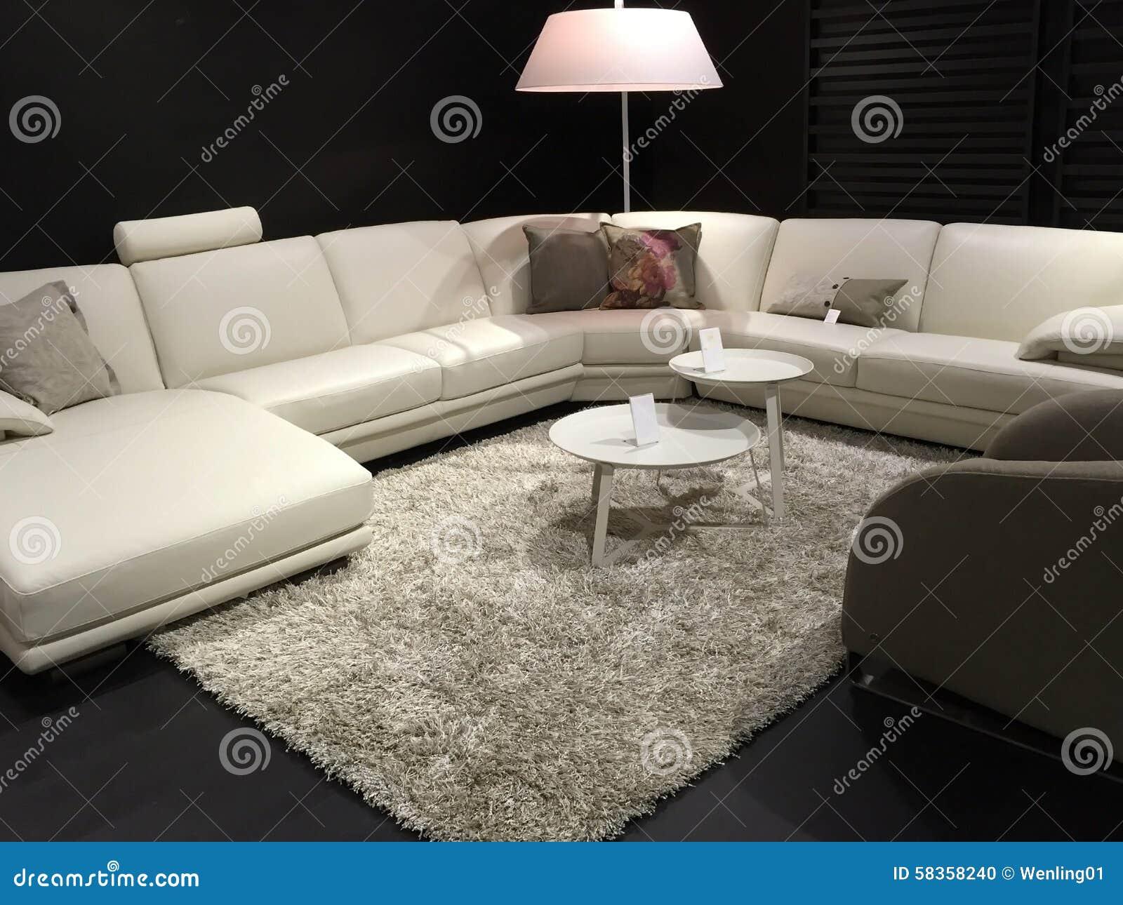 Beaux meubles de salon se vendant au magasin