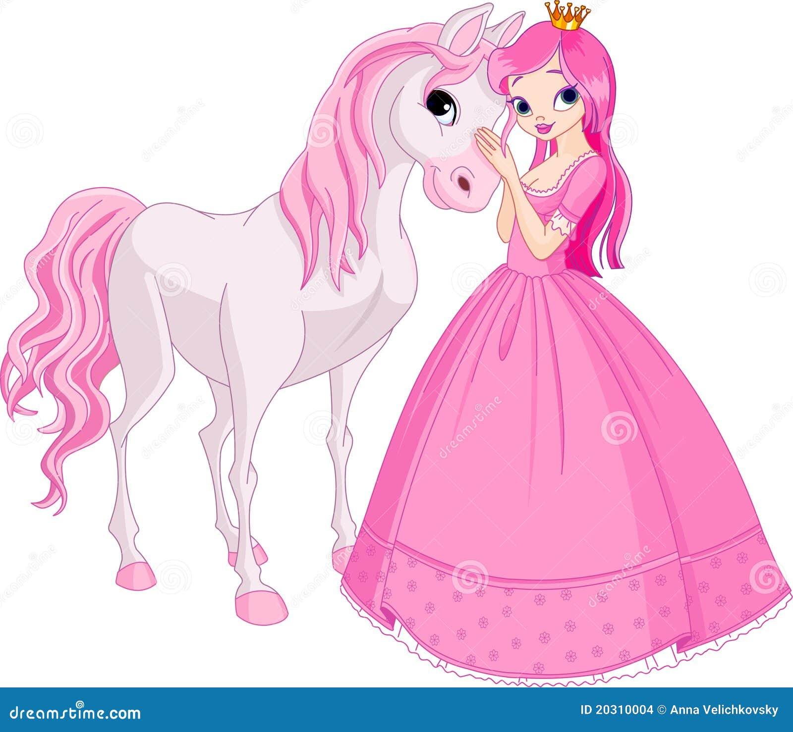 Beaux princesse et cheval images stock image 20310004 - Princesse cheval ...