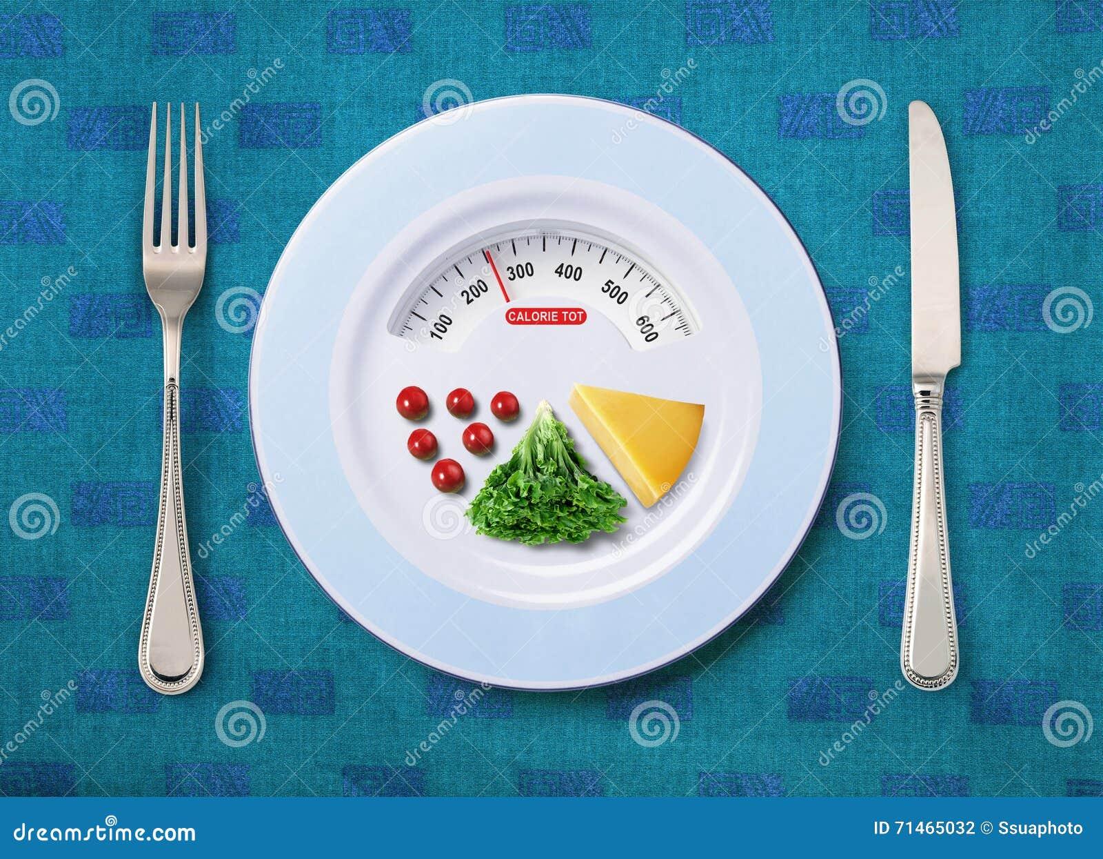 Bebé de la caloría de la comida
