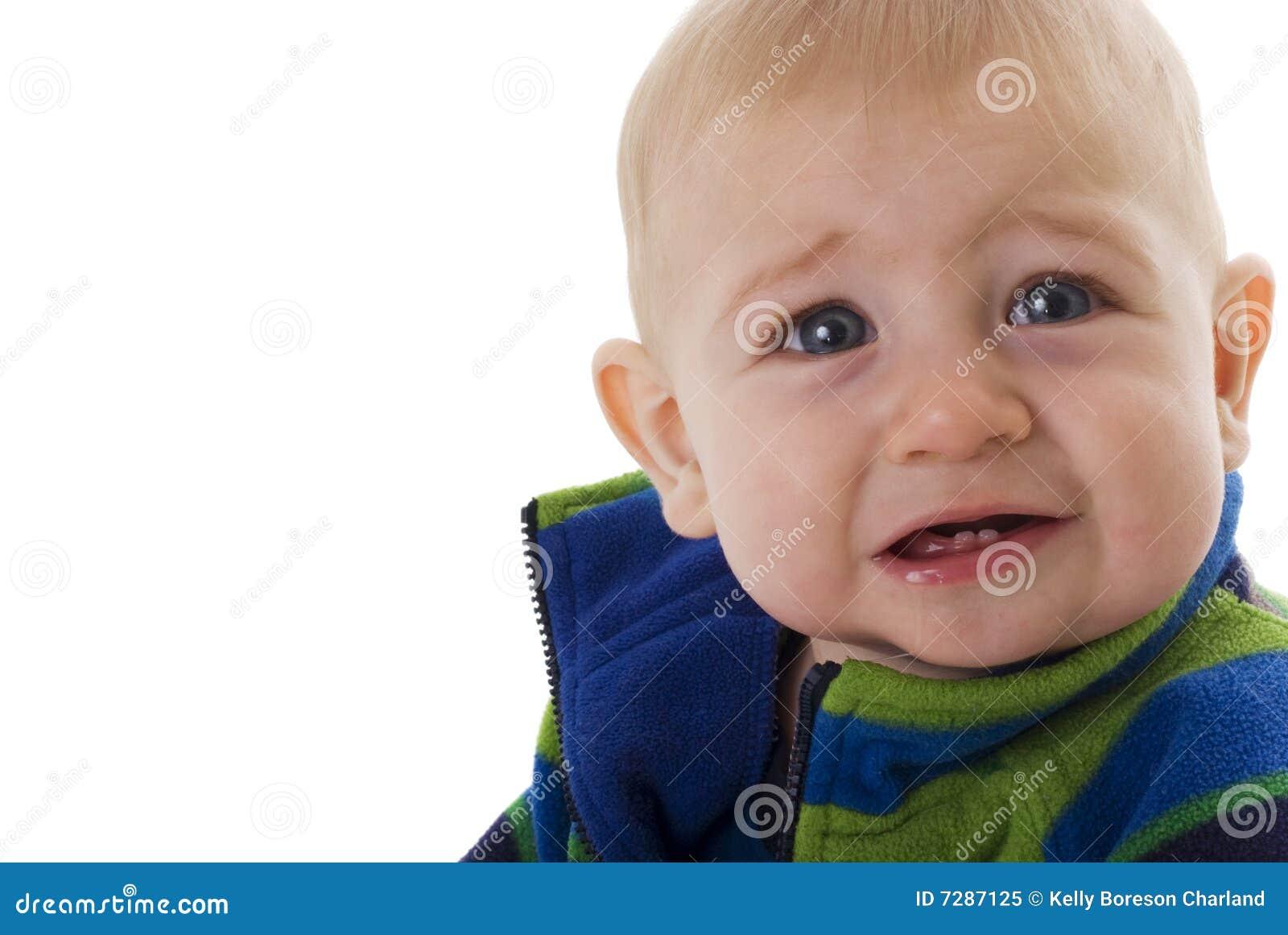 Bebé de la dentición