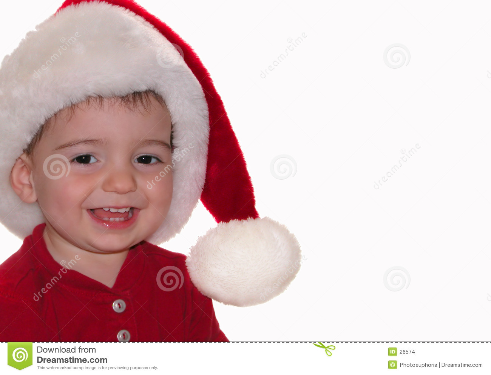 Download Bebé de Santa foto de archivo. Imagen de persona, estación - 26574