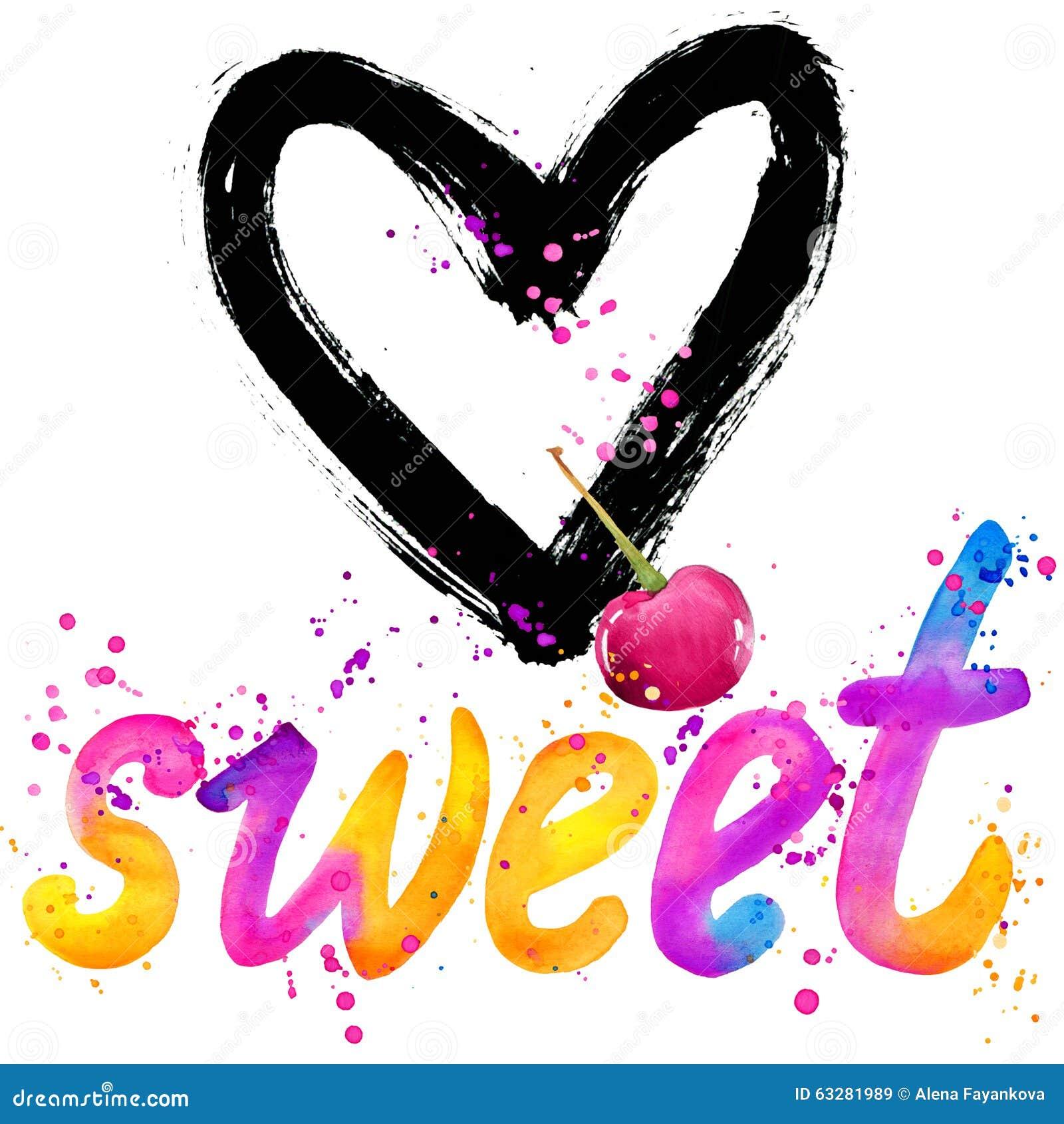 Bebé dulce Diseño de gráficos de las letras de la camiseta Dulce del texto Diseño de gráficos de la camiseta Ilustración de la ac