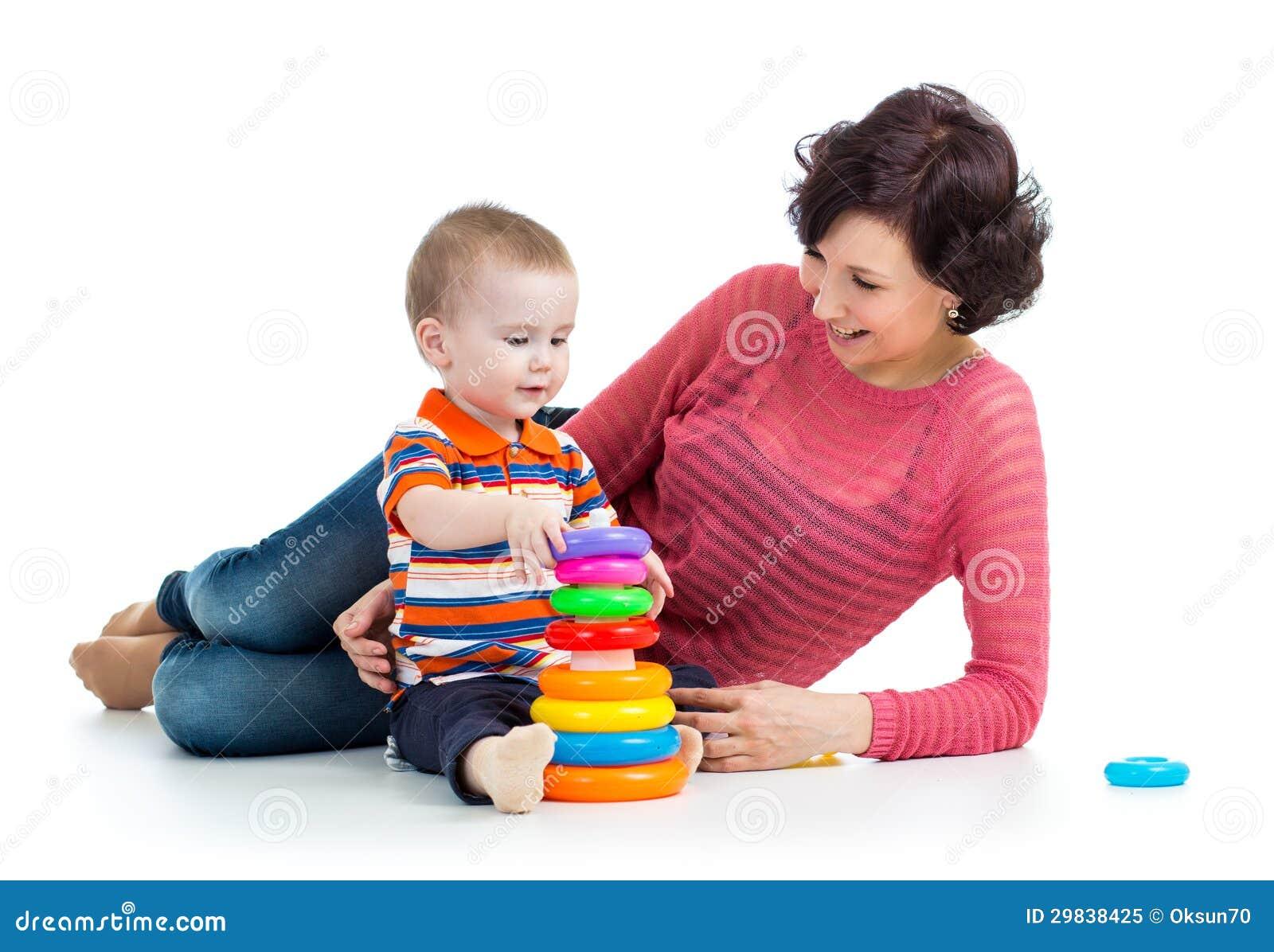 Jogo do bebé e da mãe