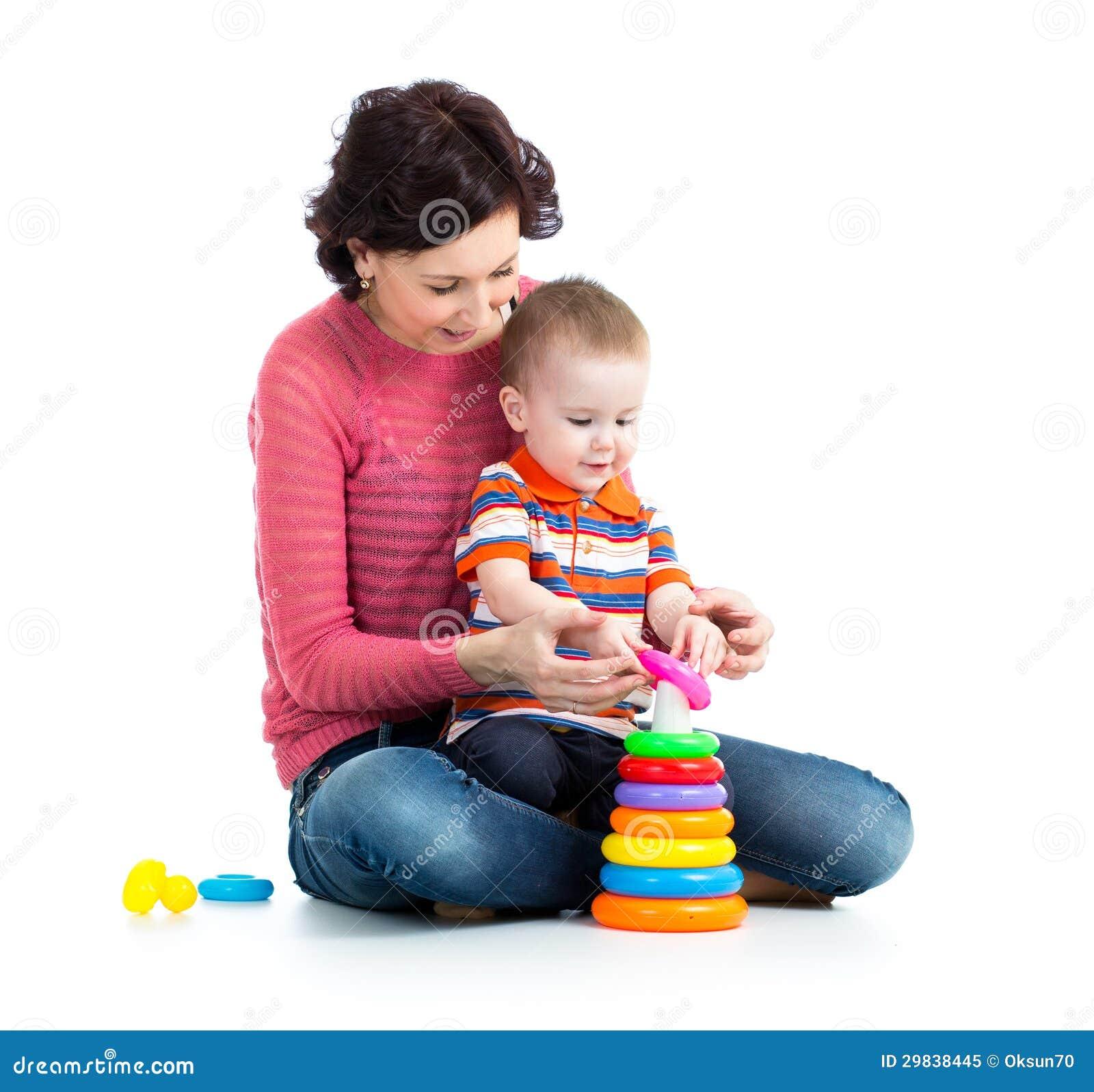 Jogo do bebê e da mãe junto