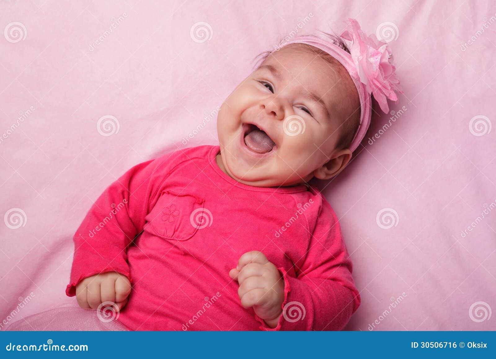 Bebé en tutú rosado