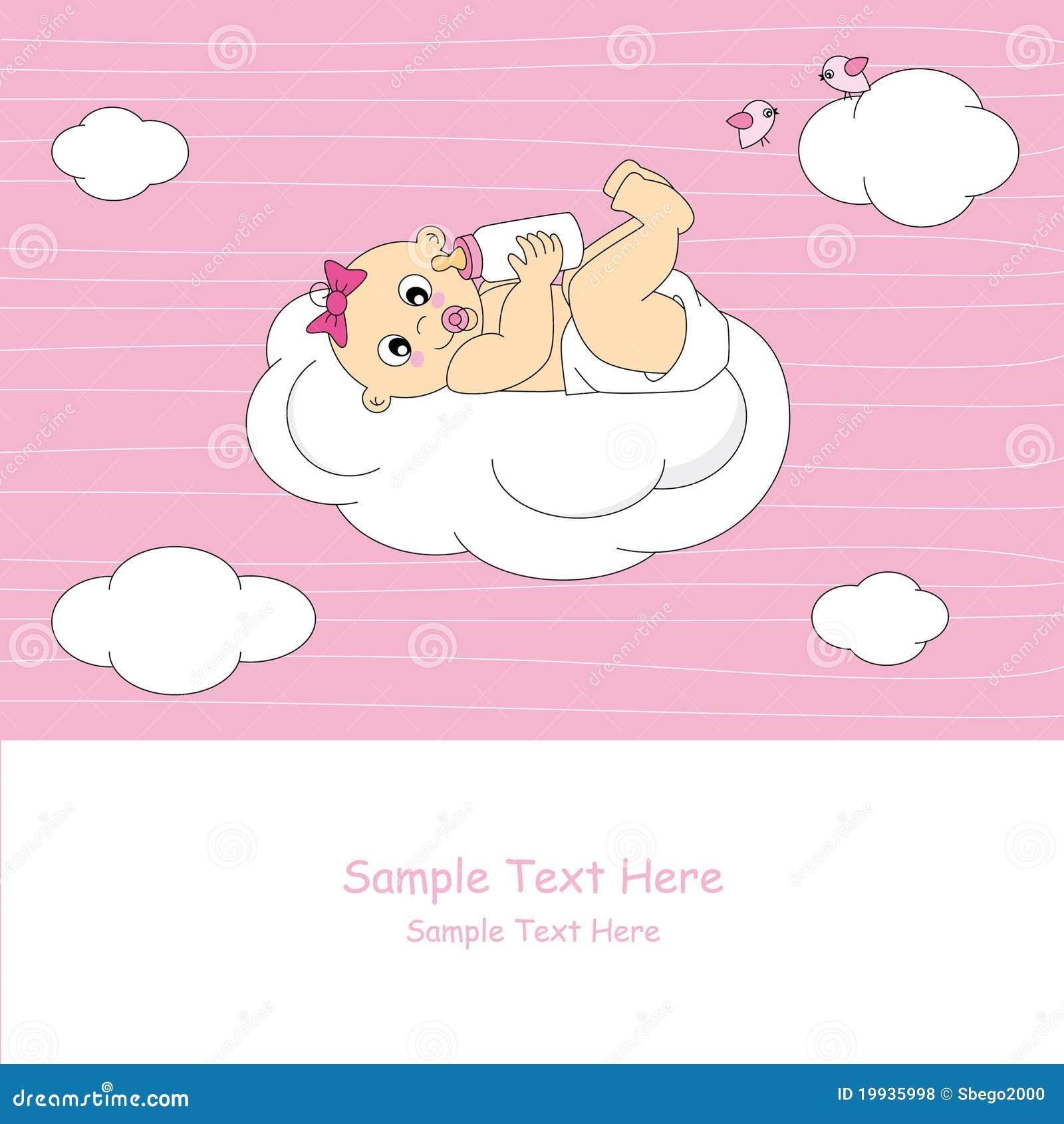 Bebé en una nube