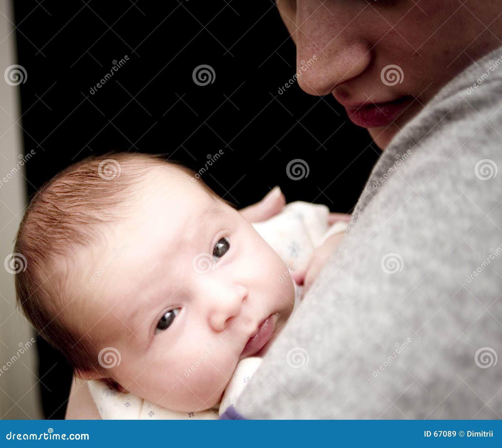 Bebé y momy