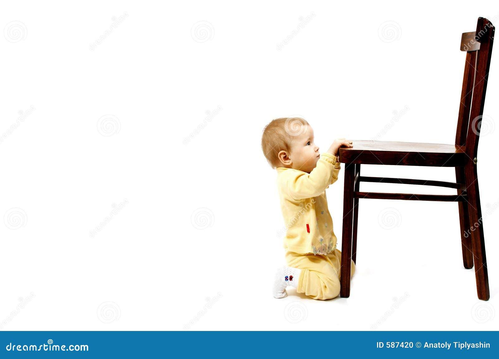 Bebé y silla