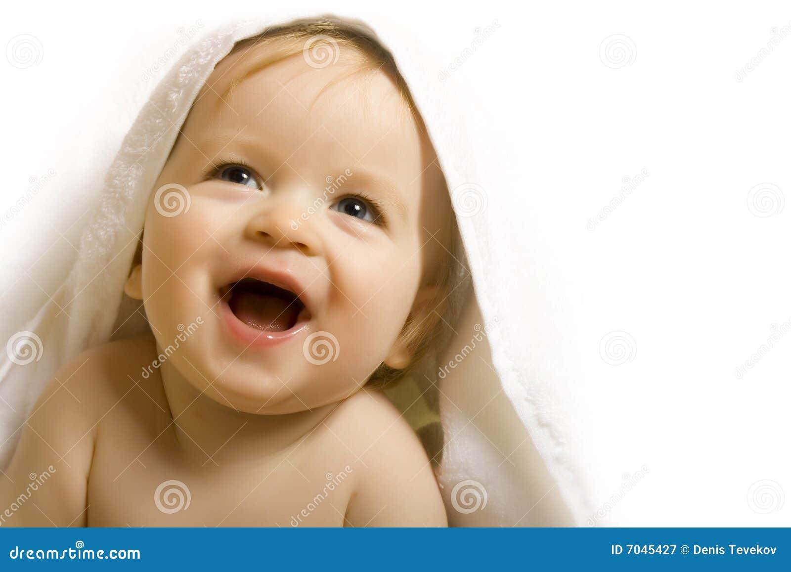 Bebê após o banho