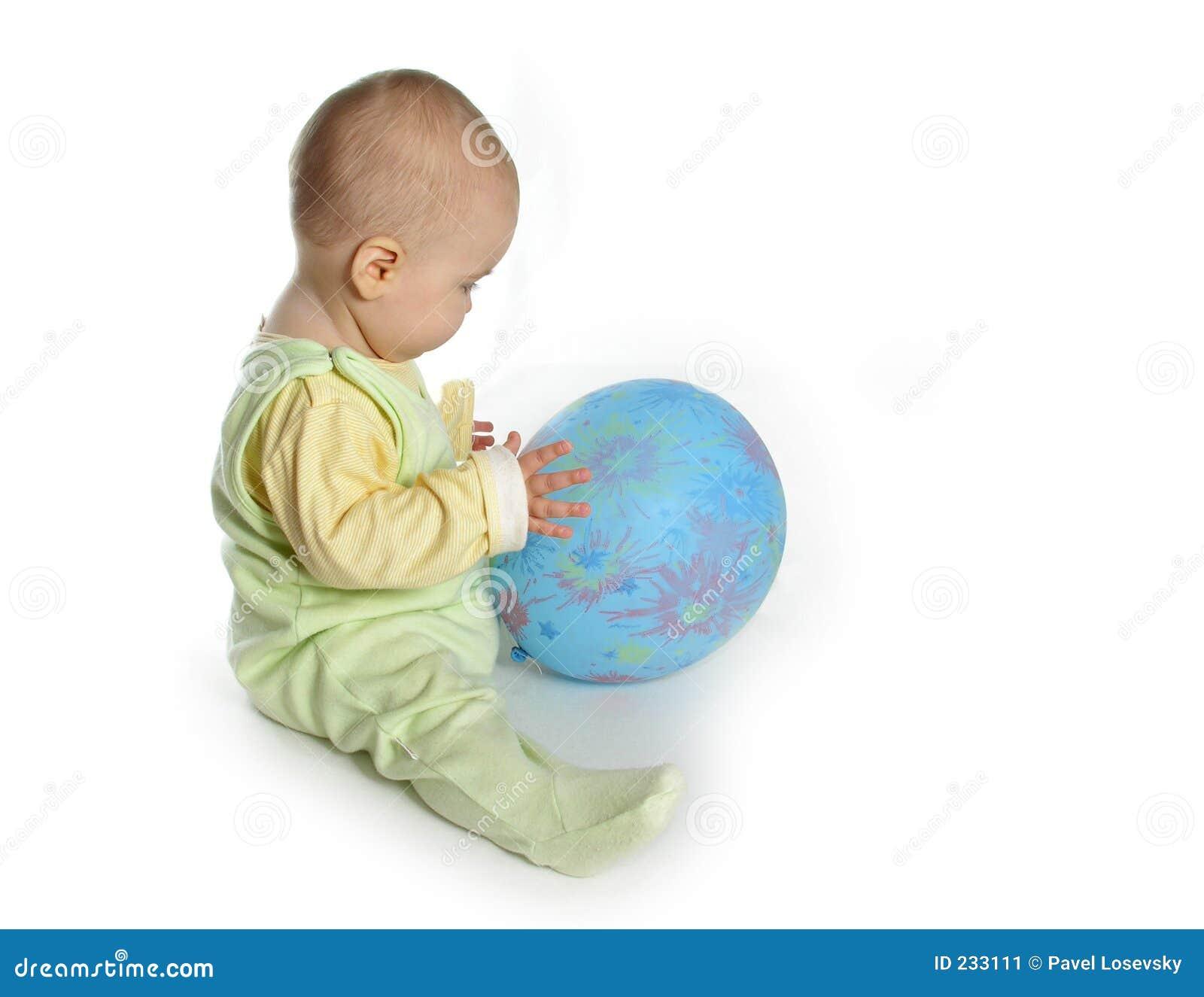 Bebê com balão