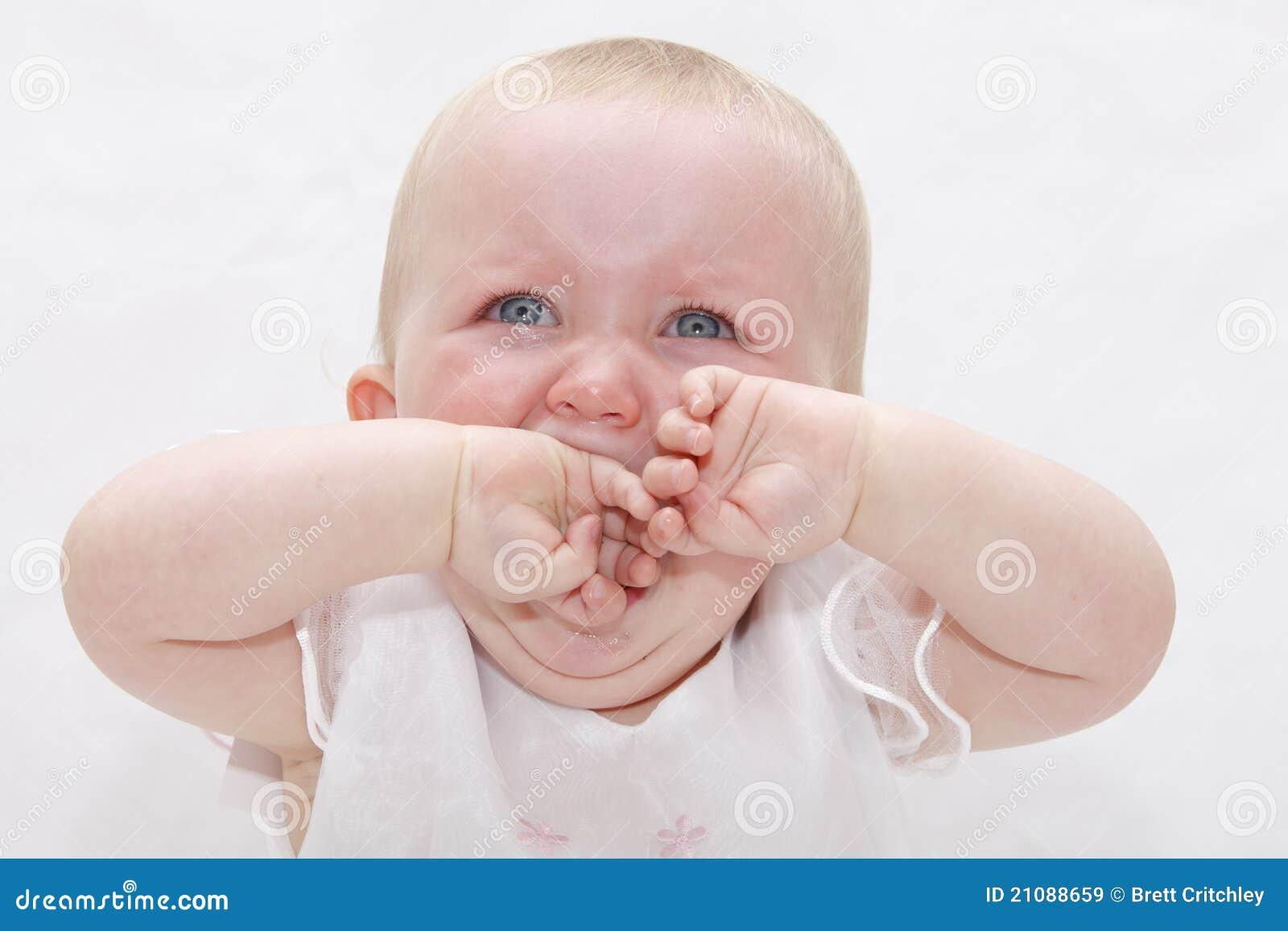 Bebê de grito virado