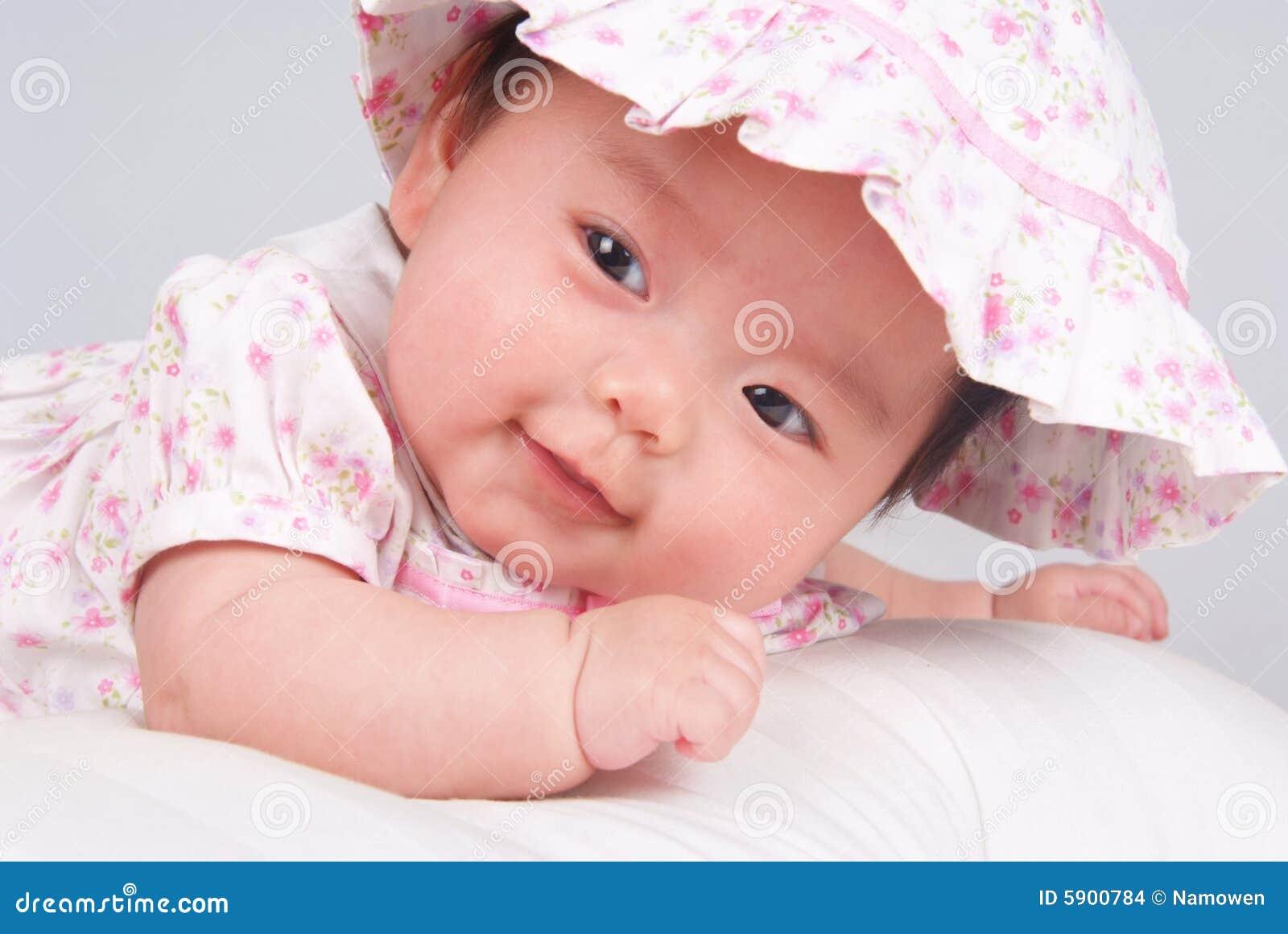 Bebê de sorriso