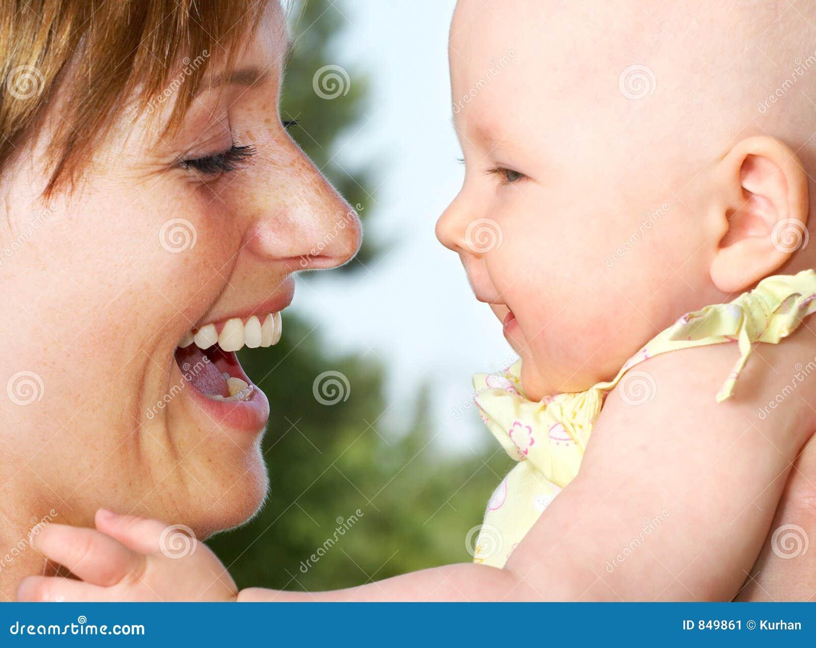 Bebê e matriz